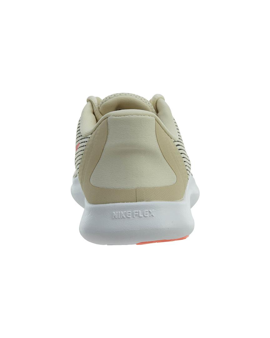Nike Synthetic Flex Run 2018 Running Sneakers From Finish Line in Cream (Grey)