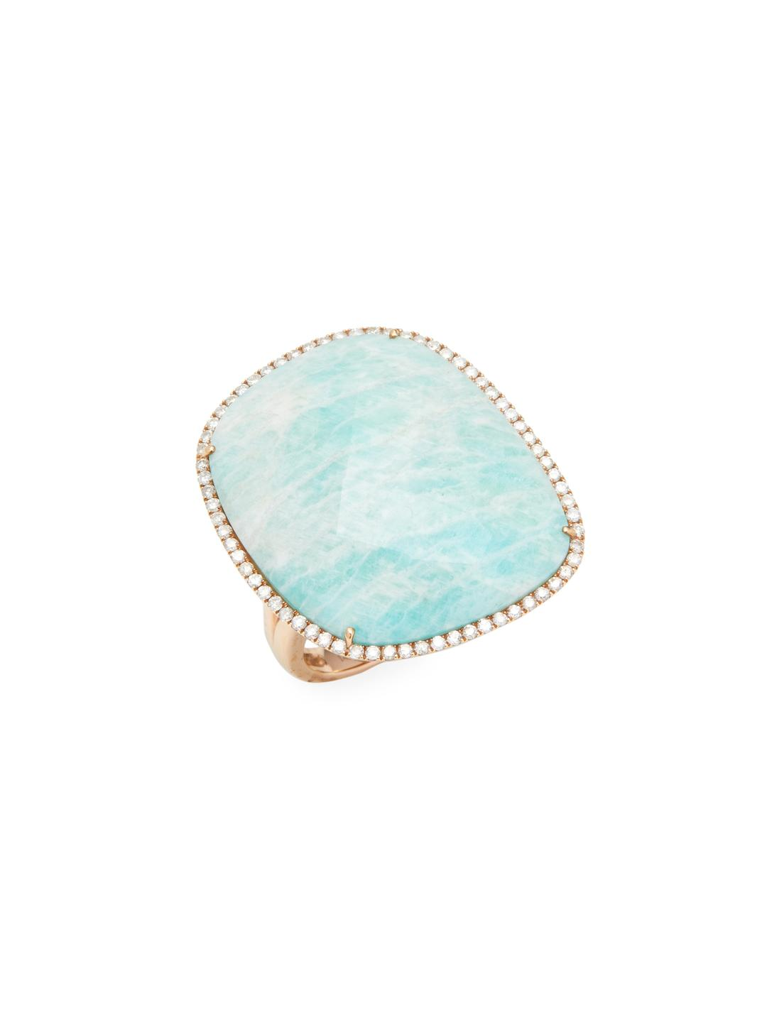 ring yellow amazonite astley round plate stilla uk clarke vermeil gold rings