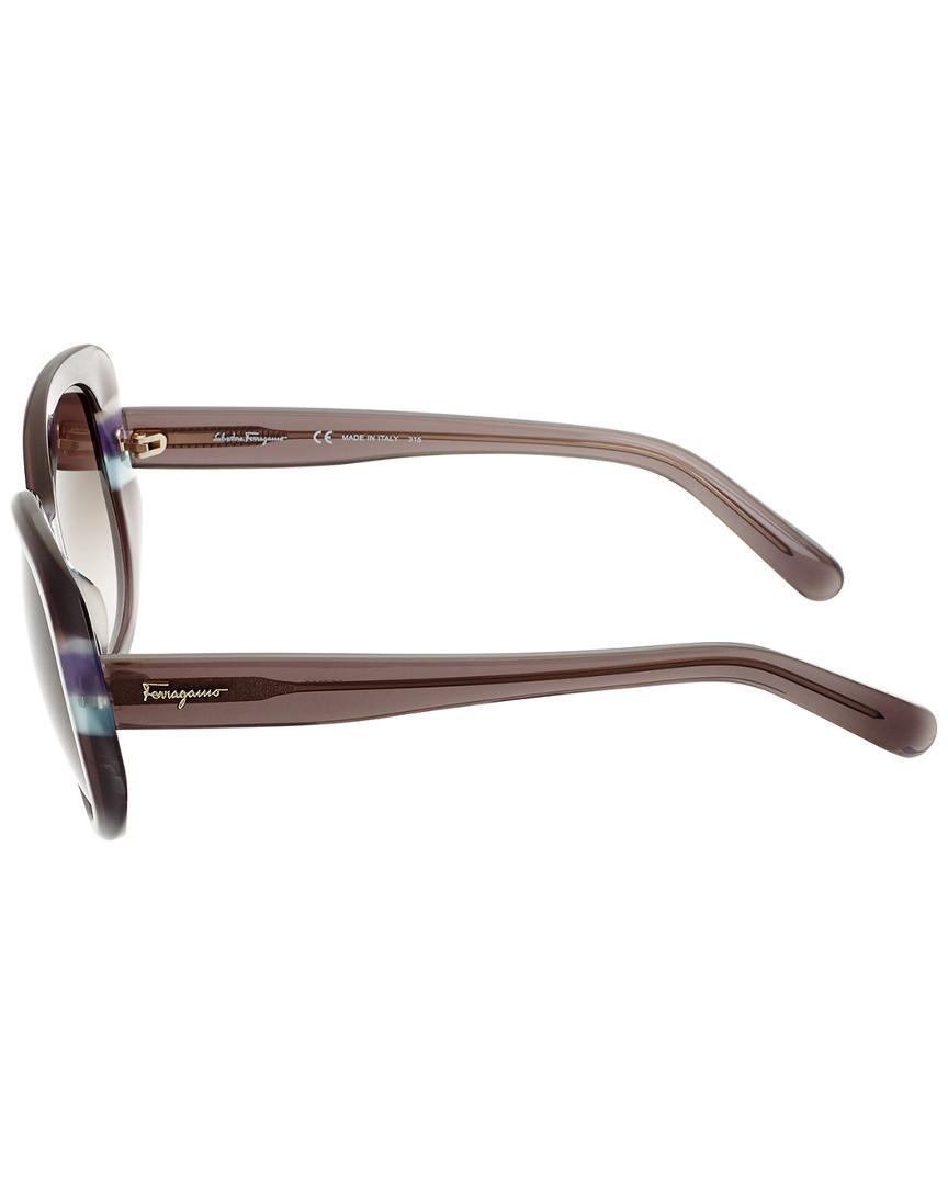 Ferragamo Women's Sf793s 54mm Sunglasses