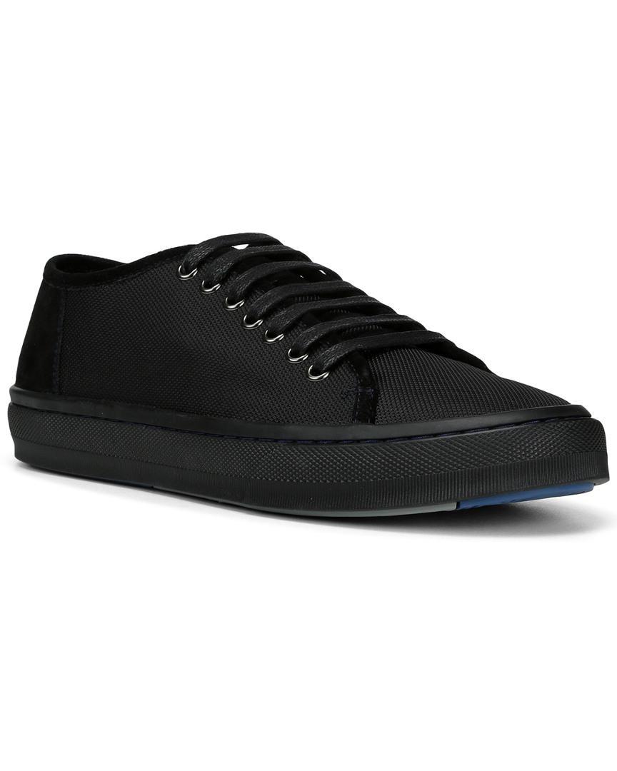 Donald J Pliner Dan Sneaker In Black For Men - Save 25