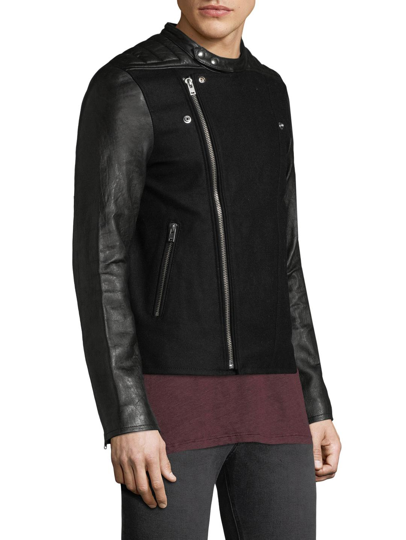 IRO Leather Haston in Black for Men