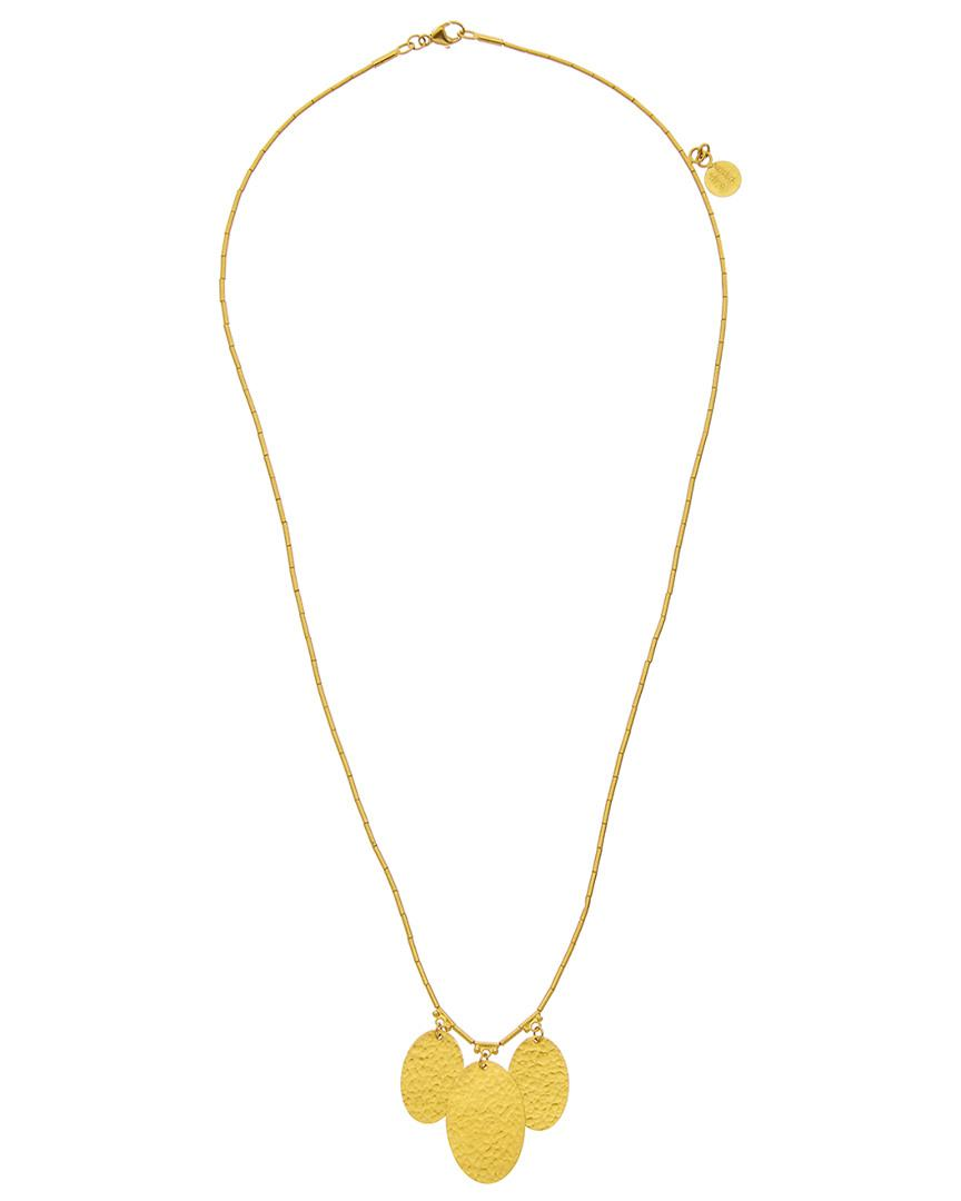 Gurhan Mango 18k & 24k Necklace in Metallic