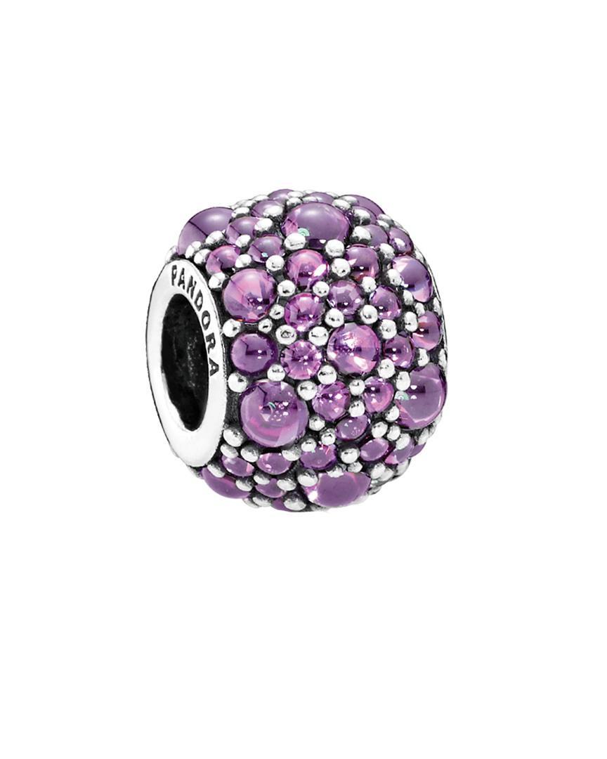 charms pandora violet