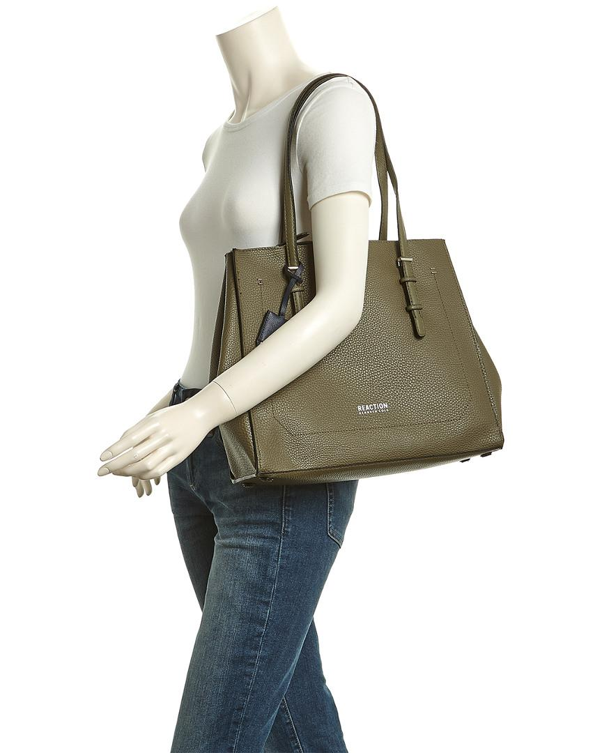Kenneth Cole Reaction Crosby Tote in Green
