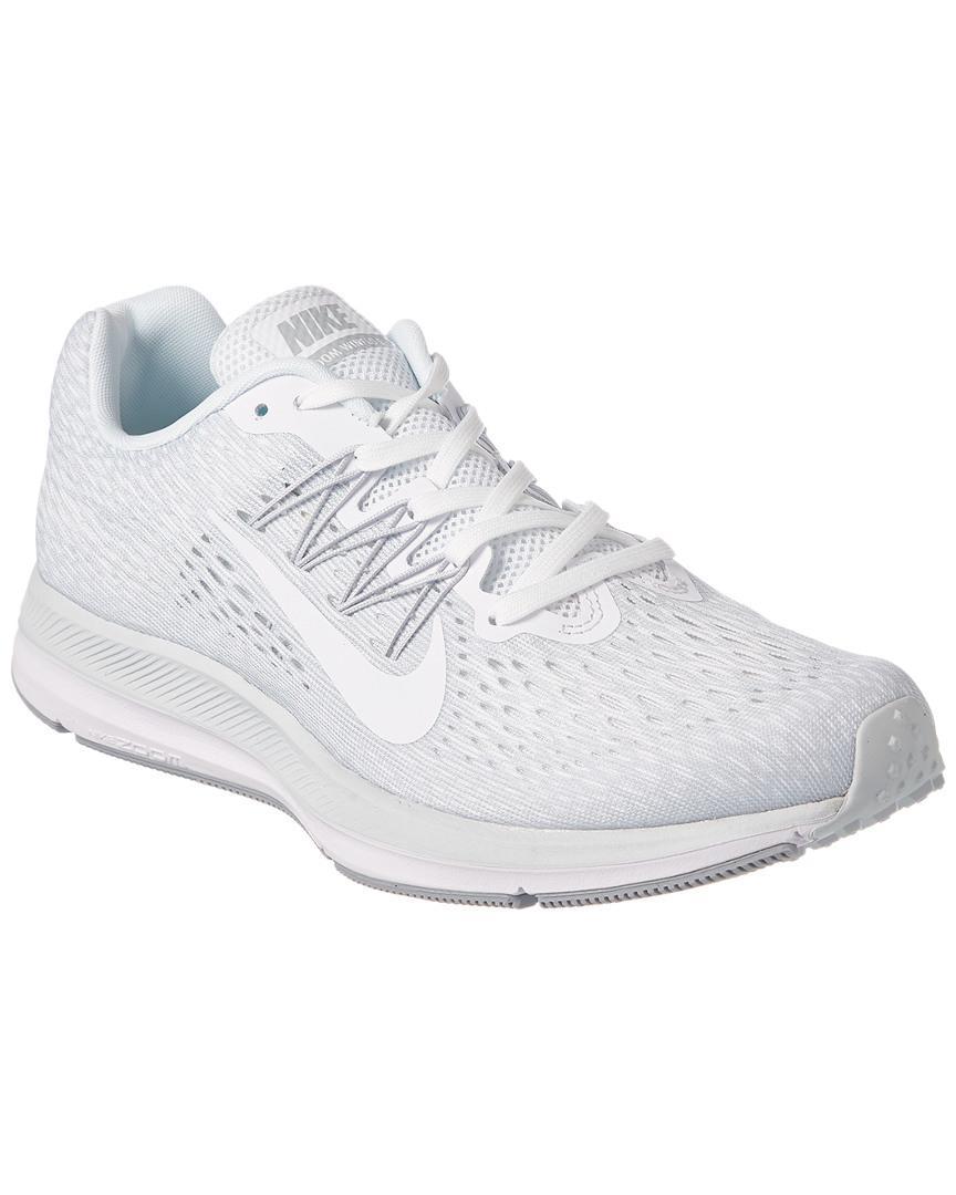 Nike Men's Air Zoom Winflo 5 Running Shoe in White for Men - Lyst