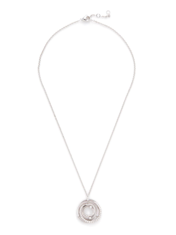Marco Bicego Pave Diamond Goa Pendant Necklace in Metallic
