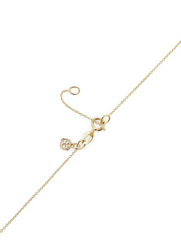 Sydney Evan Poppy Necklace in Yellow Gold (Metallic)