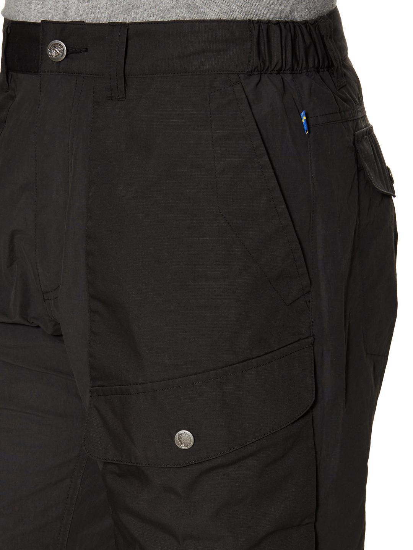 Fjallraven Synthetic Abisko Hybrid Trousers in Dark Grey (Grey) for Men