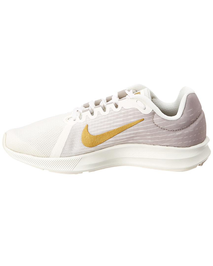 fa51ae9aac1 Lyst - Nike Downshifter 8 Mesh Sneaker in White