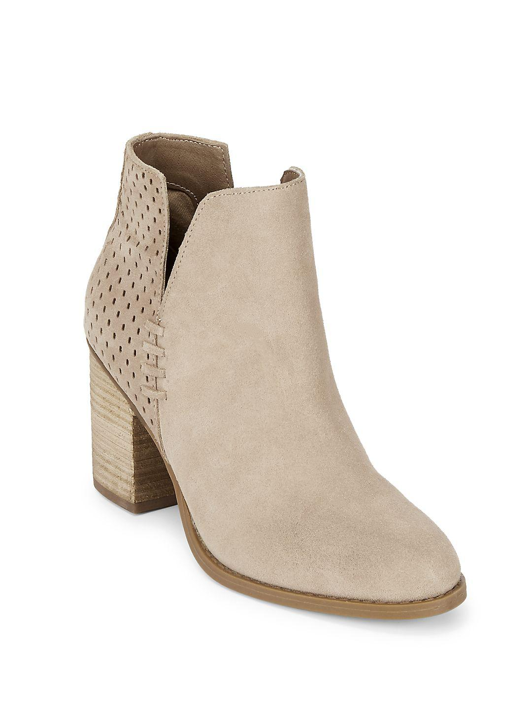 Steve Madden Soyna Suede Boots in Black