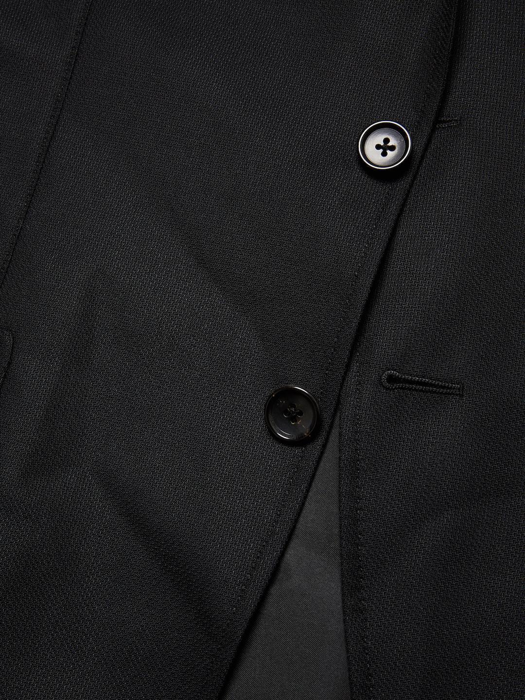 Tom Ford Wool Solid Blazer in Black for Men