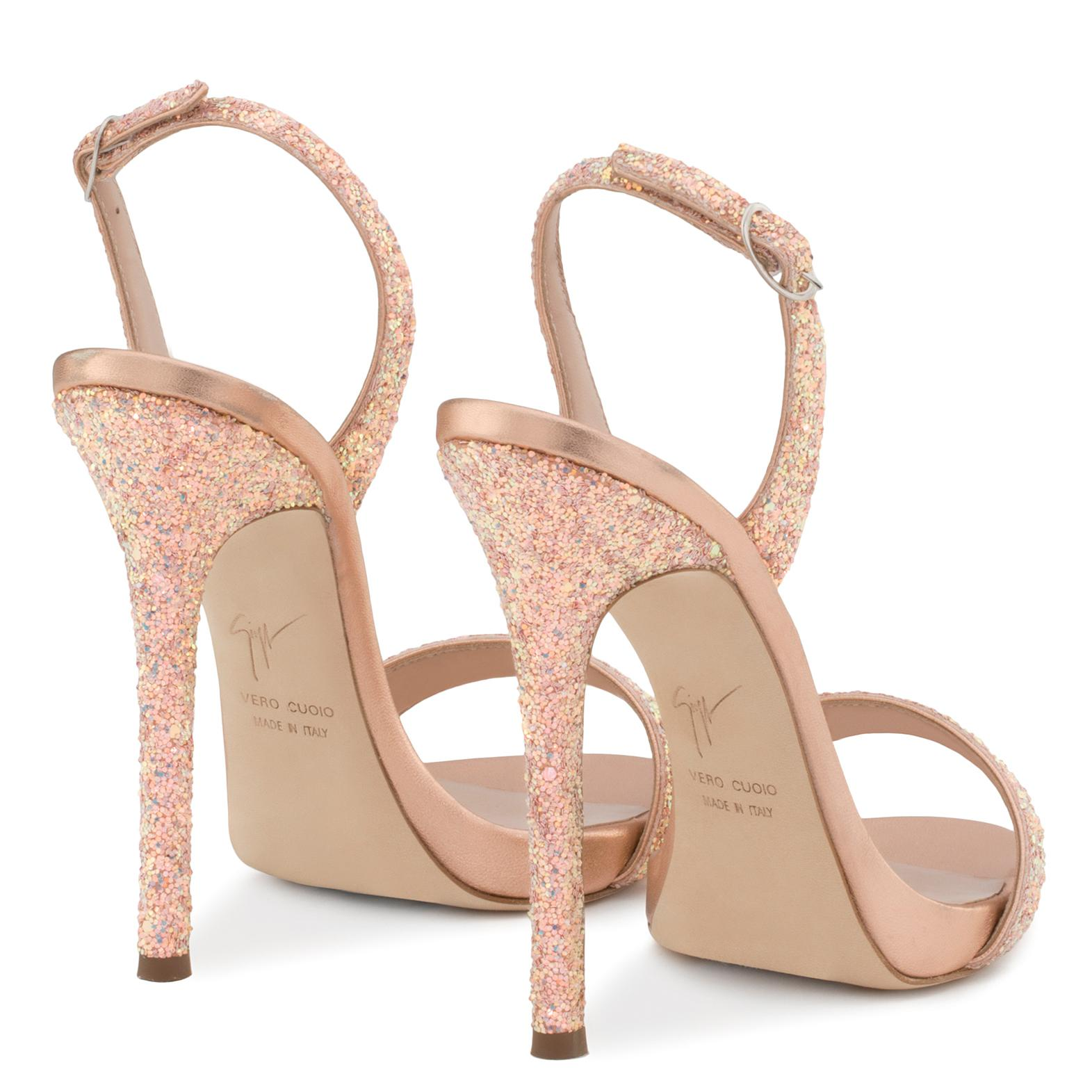 sale 2015 new online for sale Giuseppe Zanotti Design Sophie glitter sandals amazon sale online buy cheap latest collections popular for sale 2VfpQnh1l