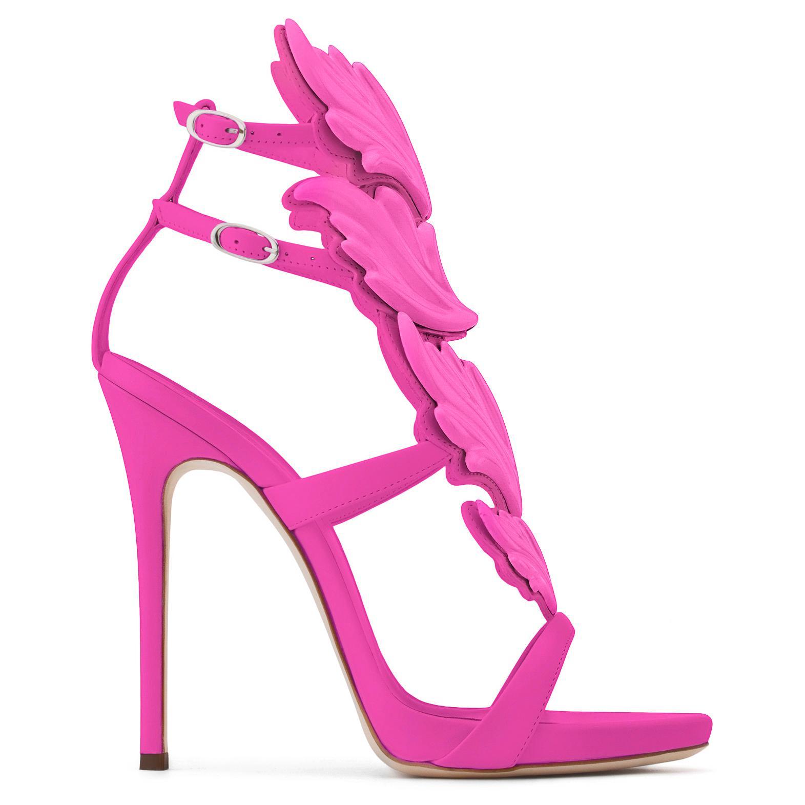 Cruel sandals - Pink & Purple Giuseppe Zanotti BMw8vR7qr