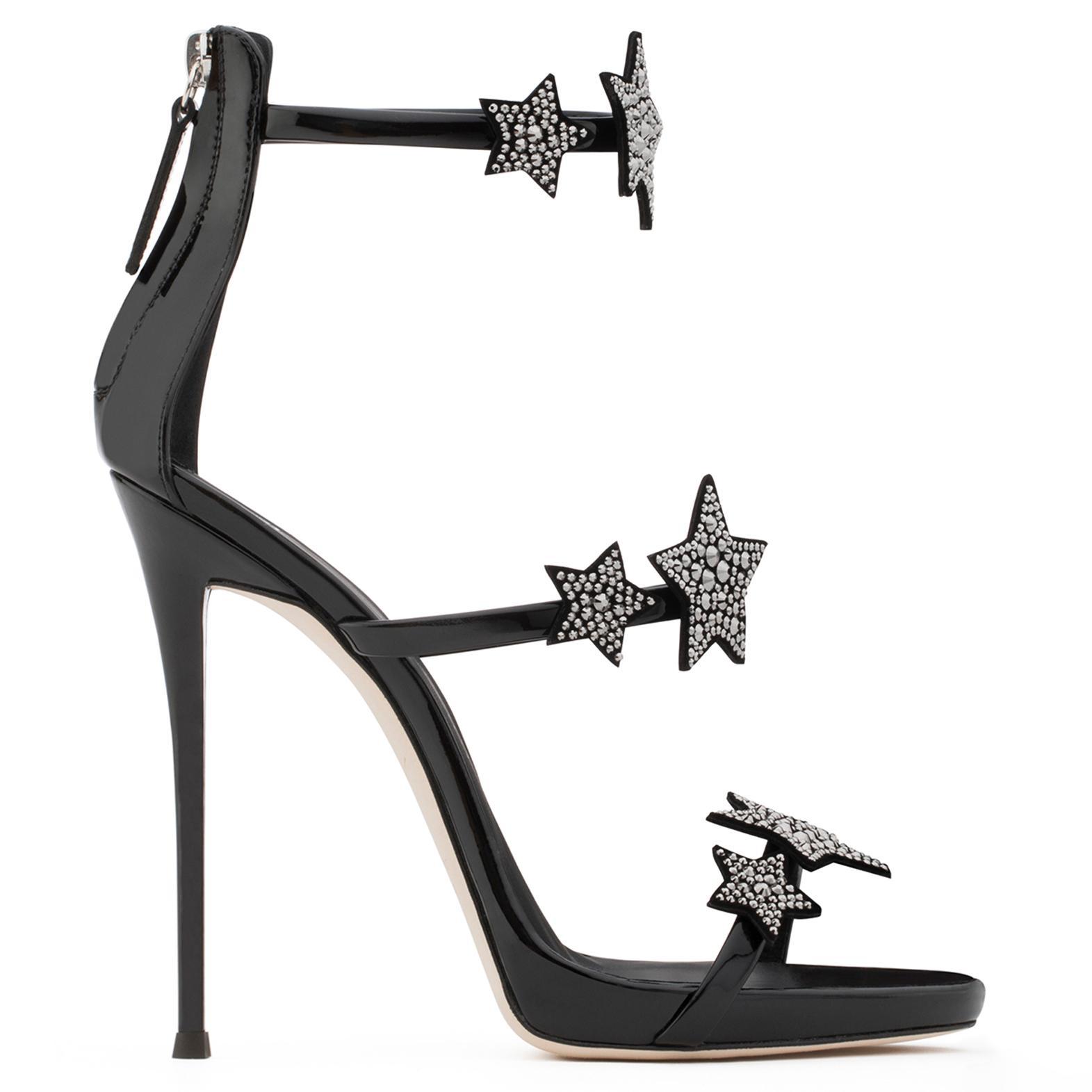 For Cheap Discount Harmony 110 Silver Glitter Sandals Giuseppe Zanotti Sale 100% Authentic Pgb8eWIJj