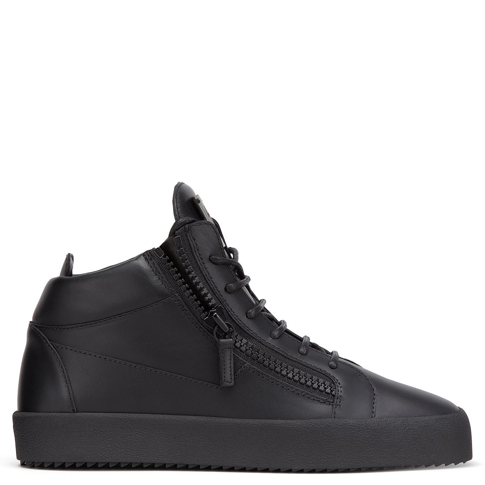 Giuseppe Zanotti Sneaker high KRISS calfskin Embossing 0bNivoG
