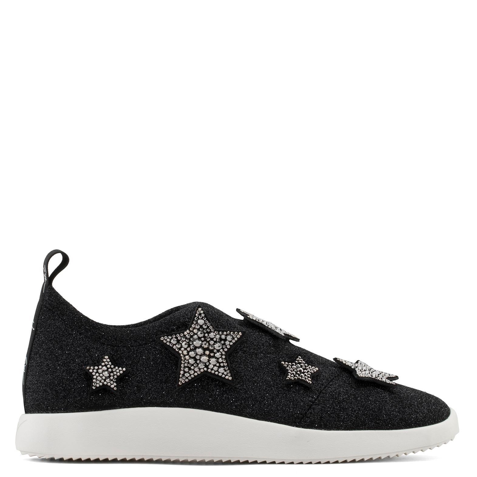 Alena Star sneakers - Black Giuseppe Zanotti lNaIs