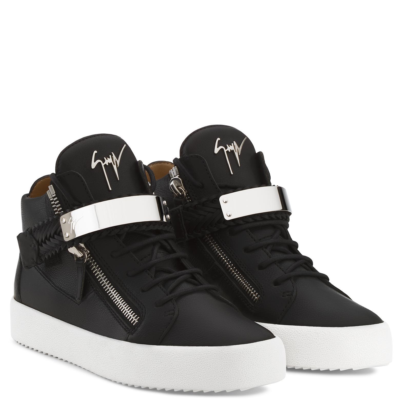 Giuseppe Zanotti Leather Kodey in Black for Men