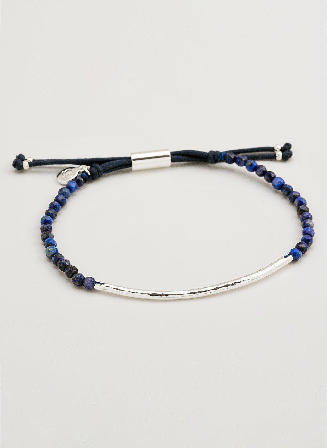 Gorjana Power Gemstone Lapis Bracelet for Wisdom, Gold