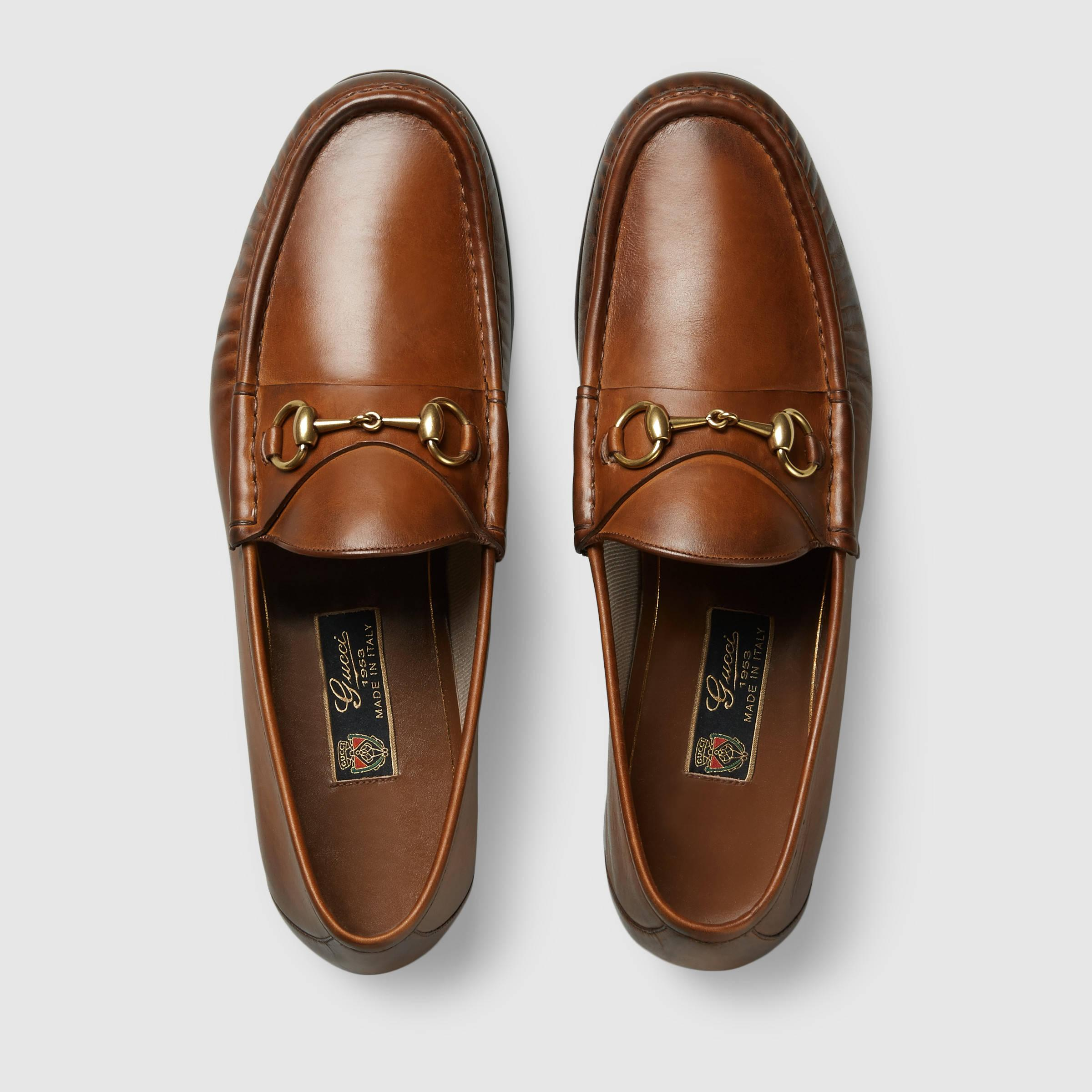 F F Classic Leather Mens Shoes