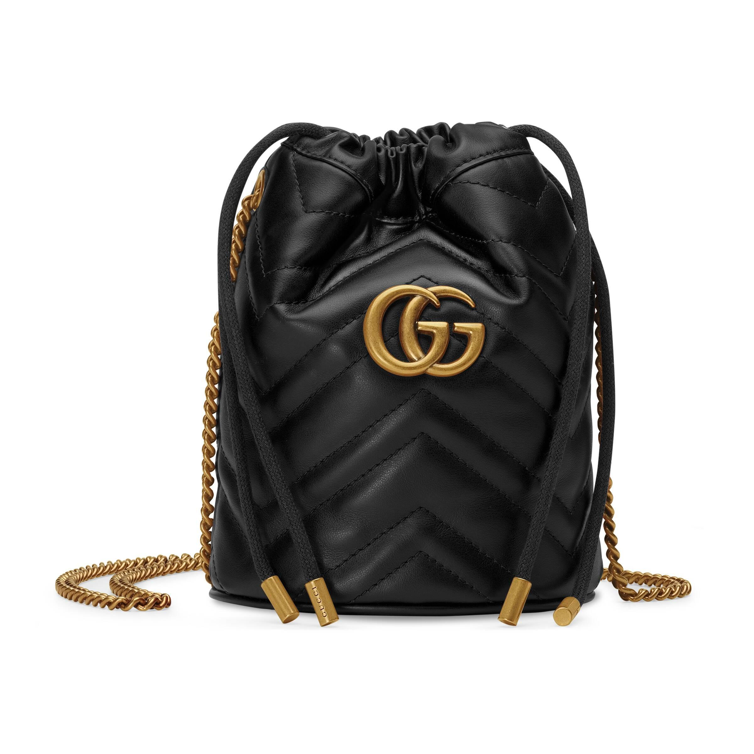 Negro Mujer Gg Color Minibolso Marmont Bombonera De D9EeHYIW2b