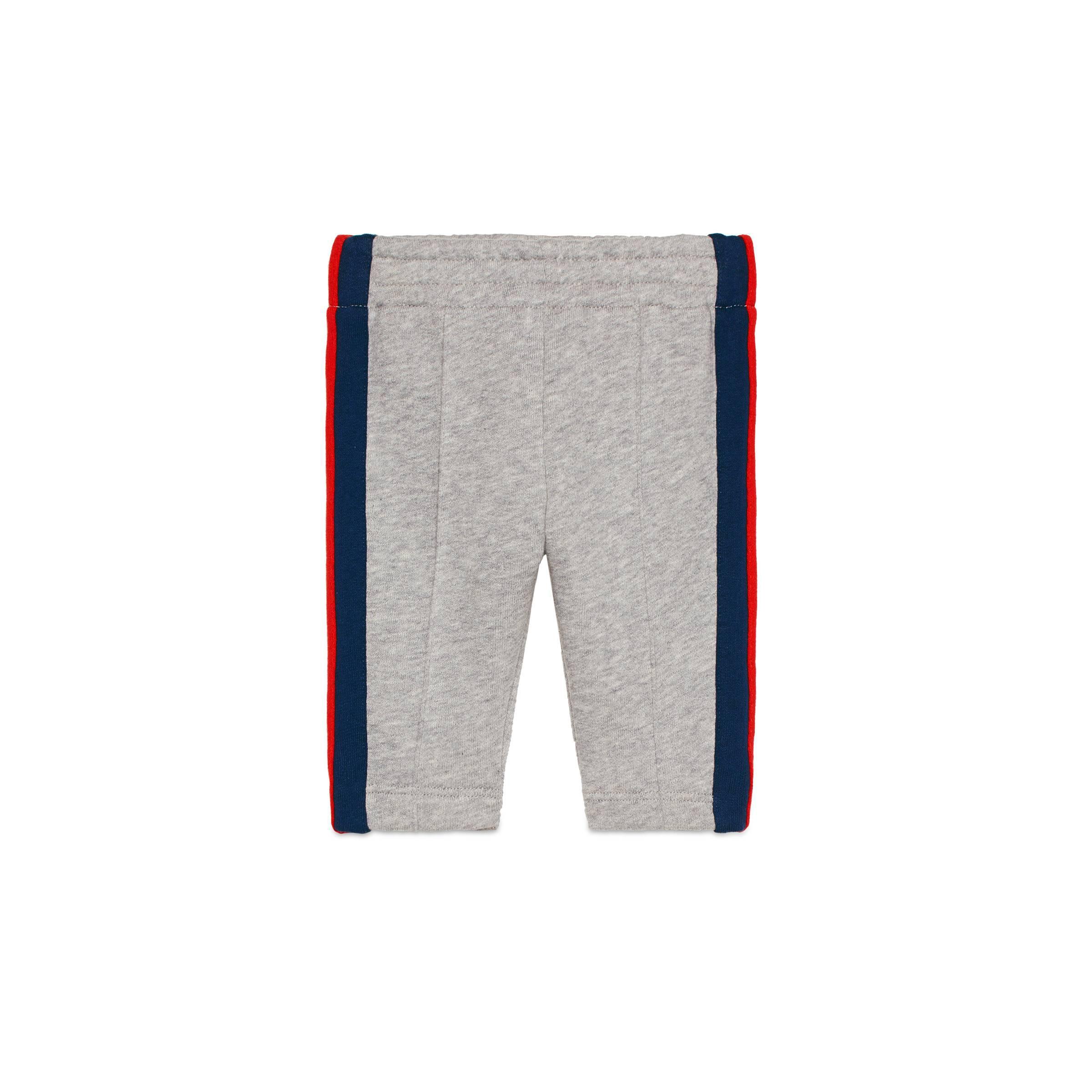 725ade344ce7f Gucci Pantalon De Jogging Pour Bébé En Coton in Gray - Lyst