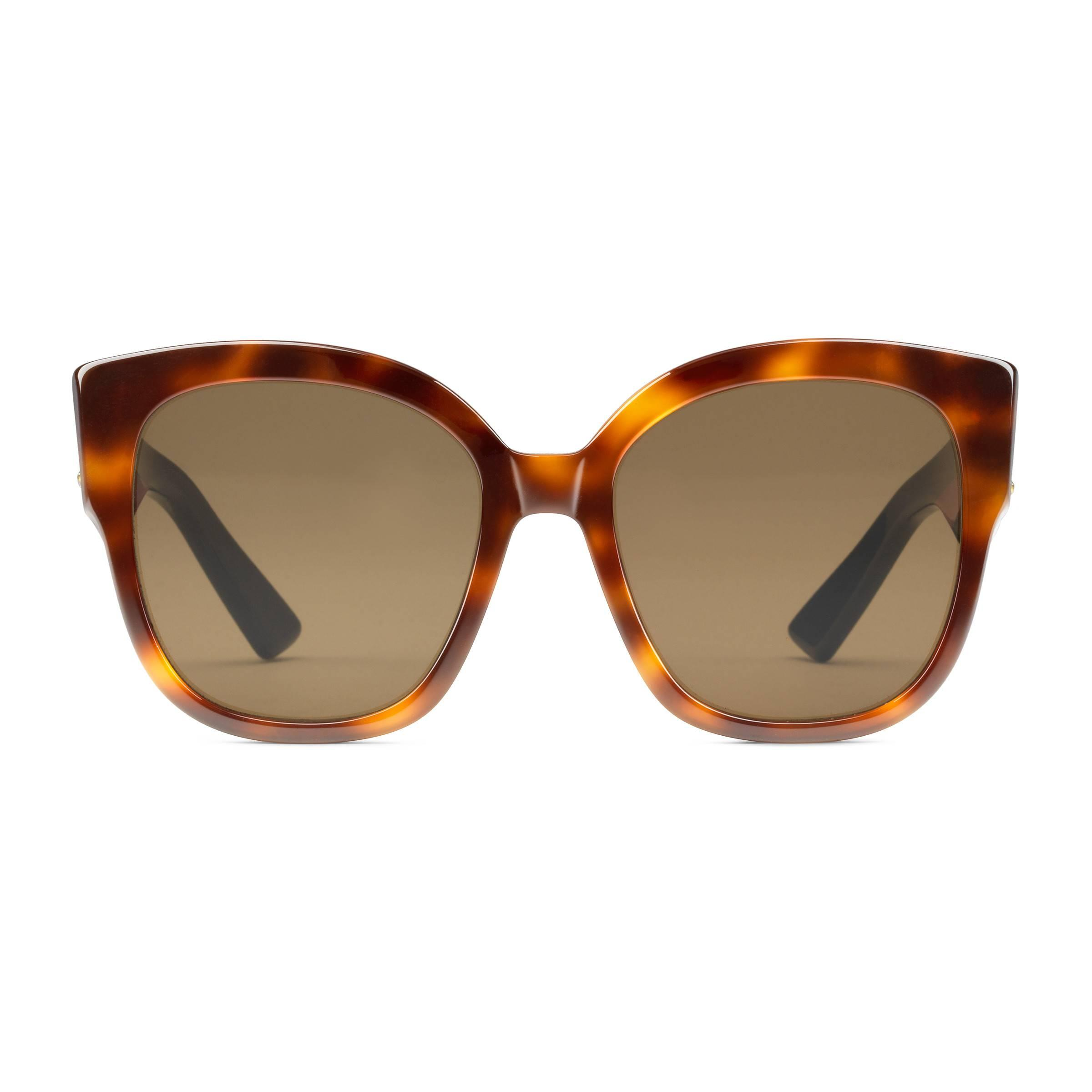 a23ed7b3a01 Gucci Square in Brown - Save 5% - Lyst