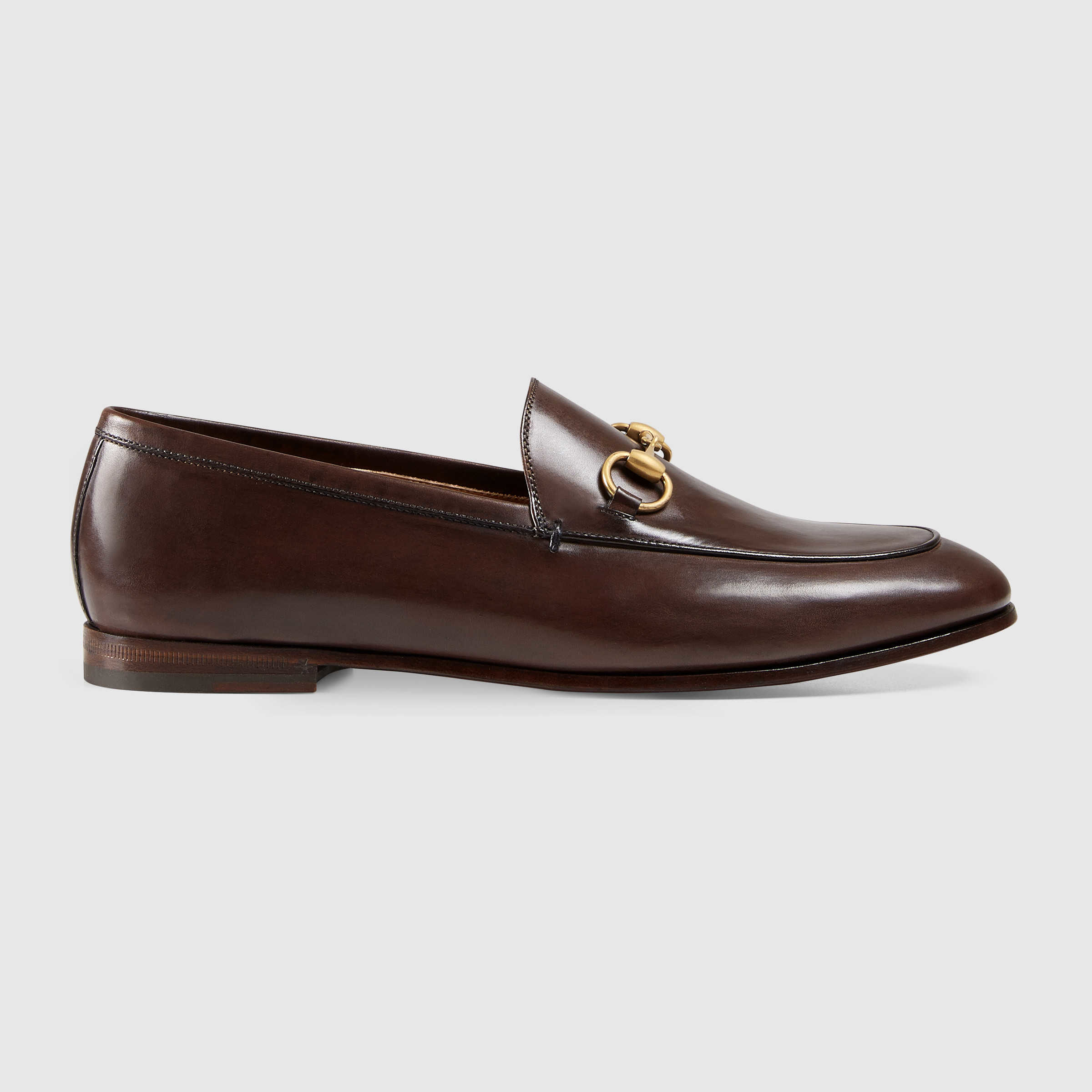 Dark Brown Leather Casual Shoes