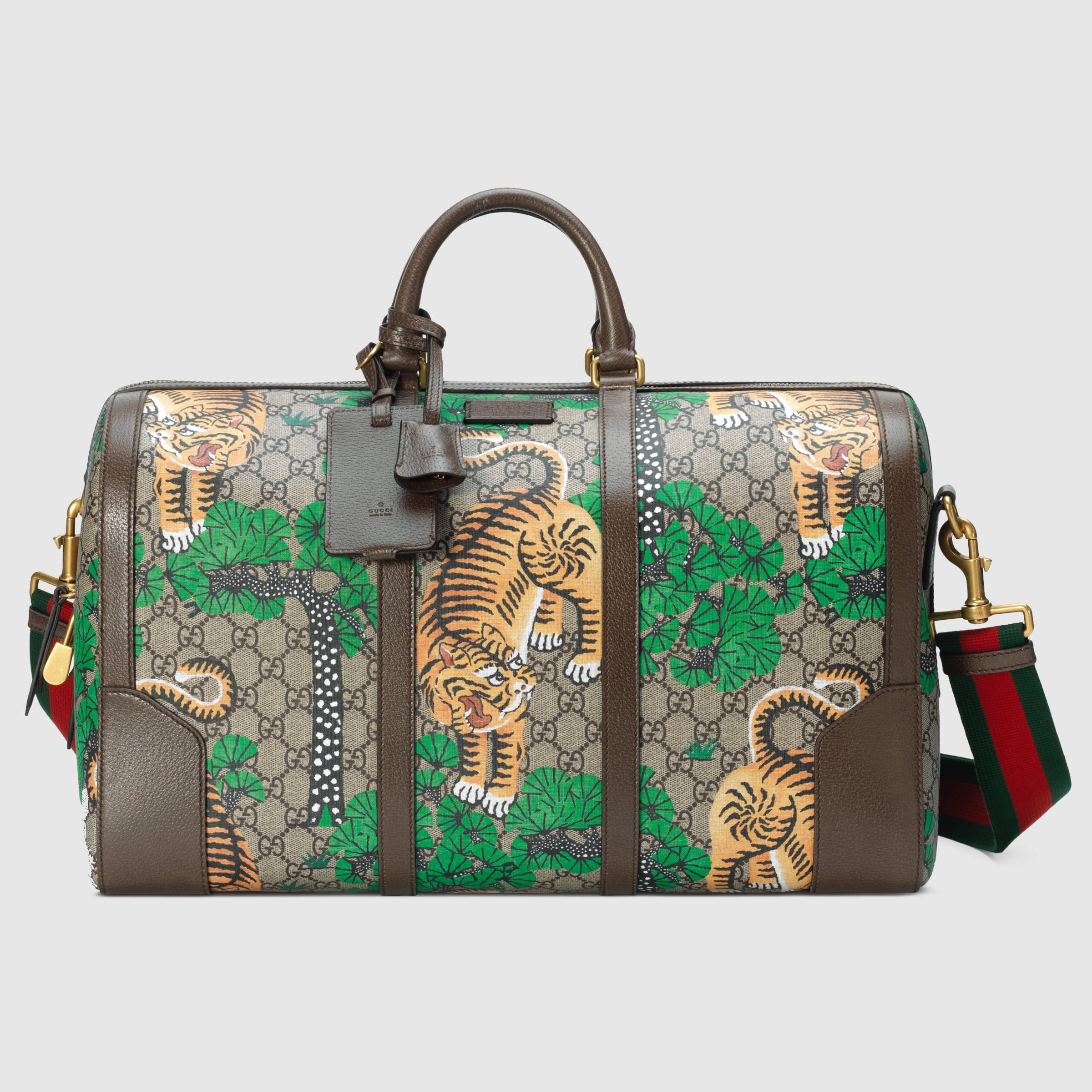 Lyst Gucci Bengal Tiger Holdall