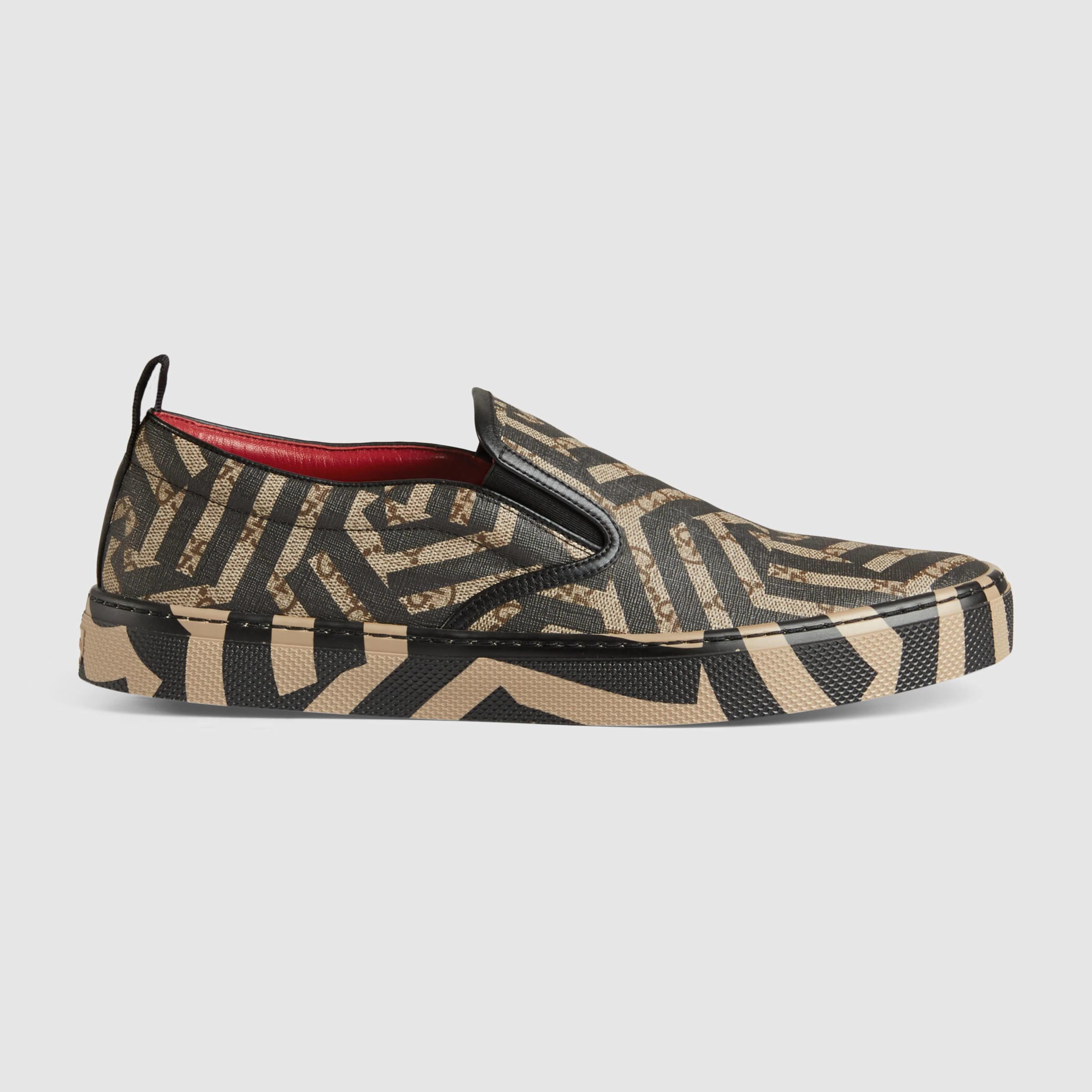 1a6fc5c338d Lyst - Gucci Gg Caleido Sneaker for Men