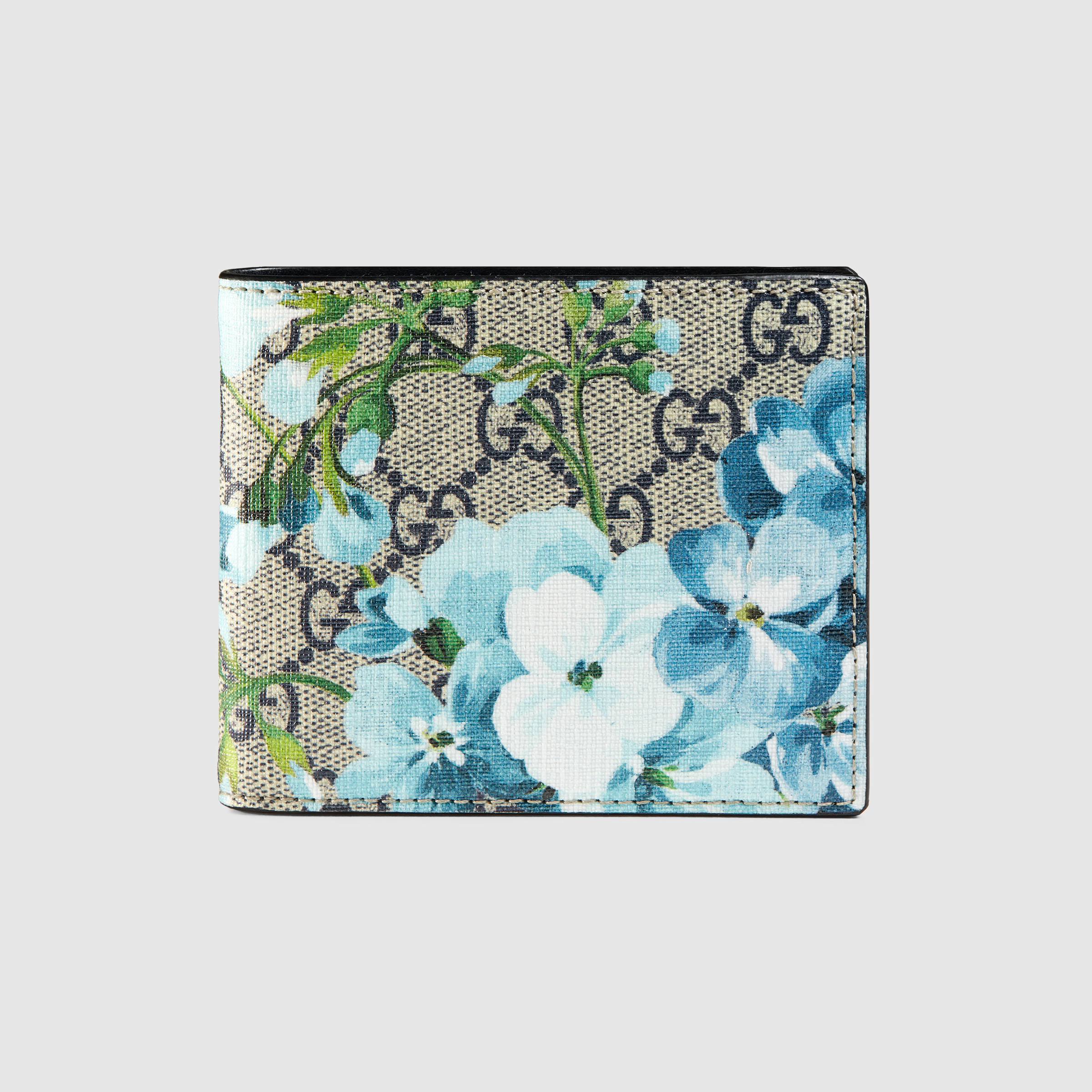dc930f737db9 Gucci Gg Blooms Wallet in Blue for Men - Lyst