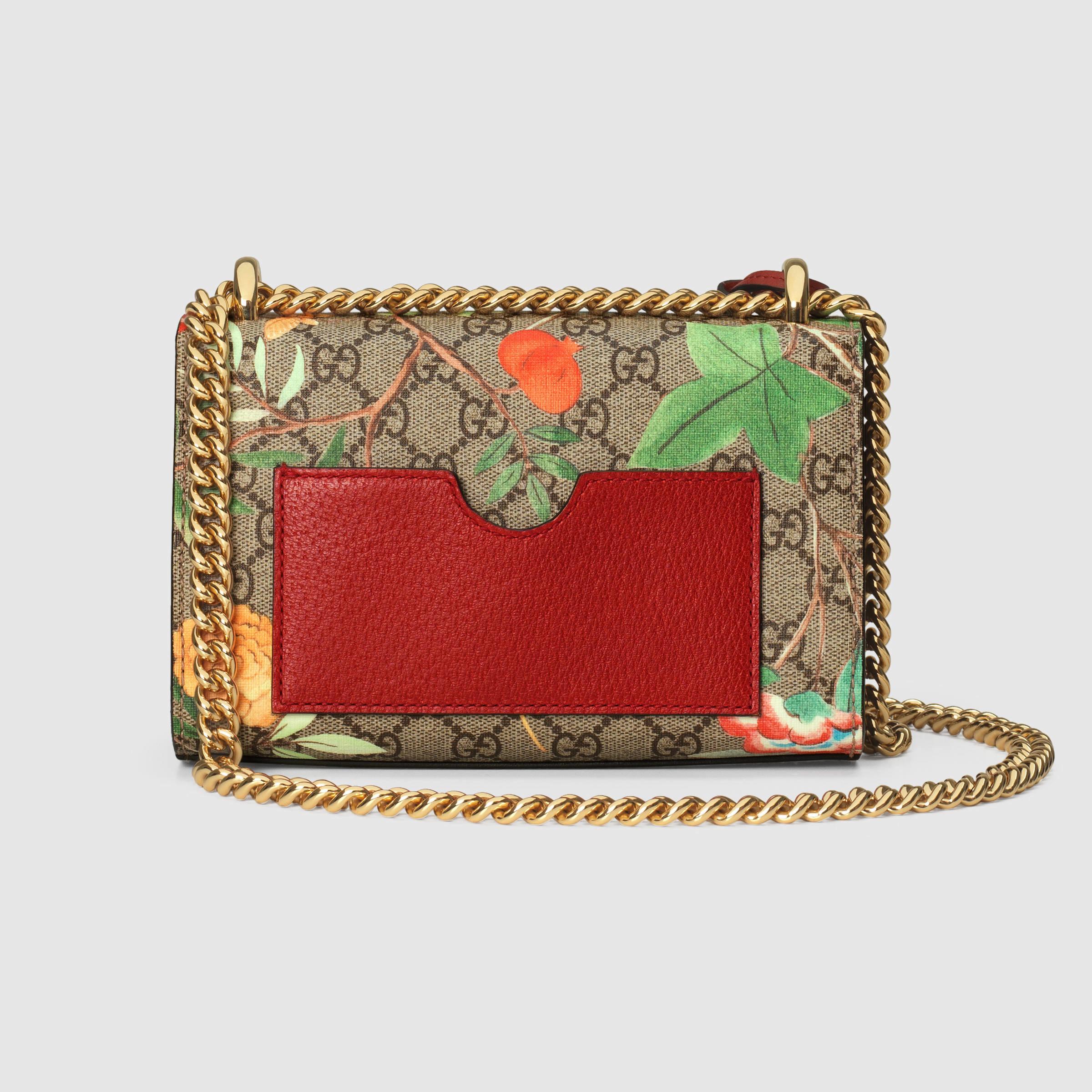 a074116971 Gucci Multicolor Tian Padlock Shoulder Bag