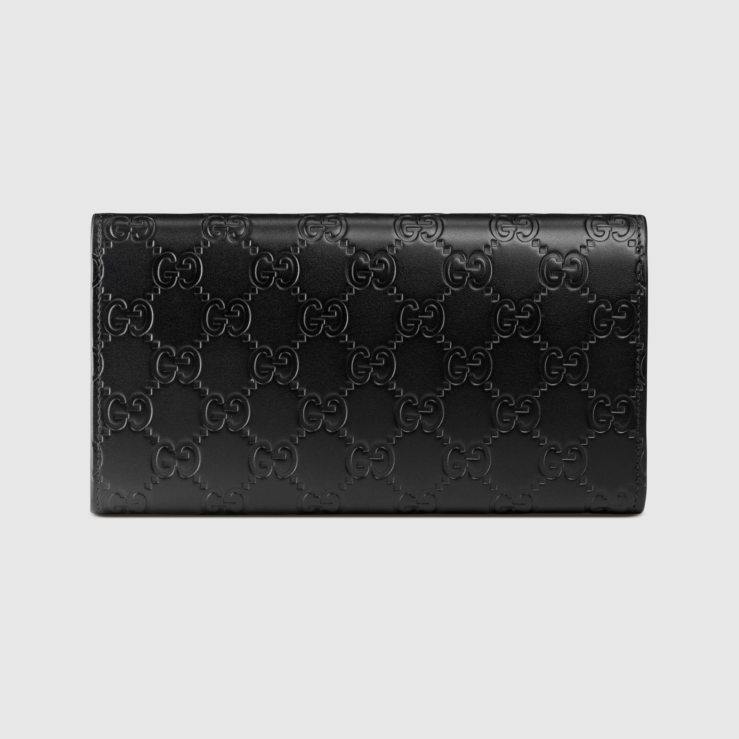 a78b0db54852 Gucci Signature Web Coin Wallet