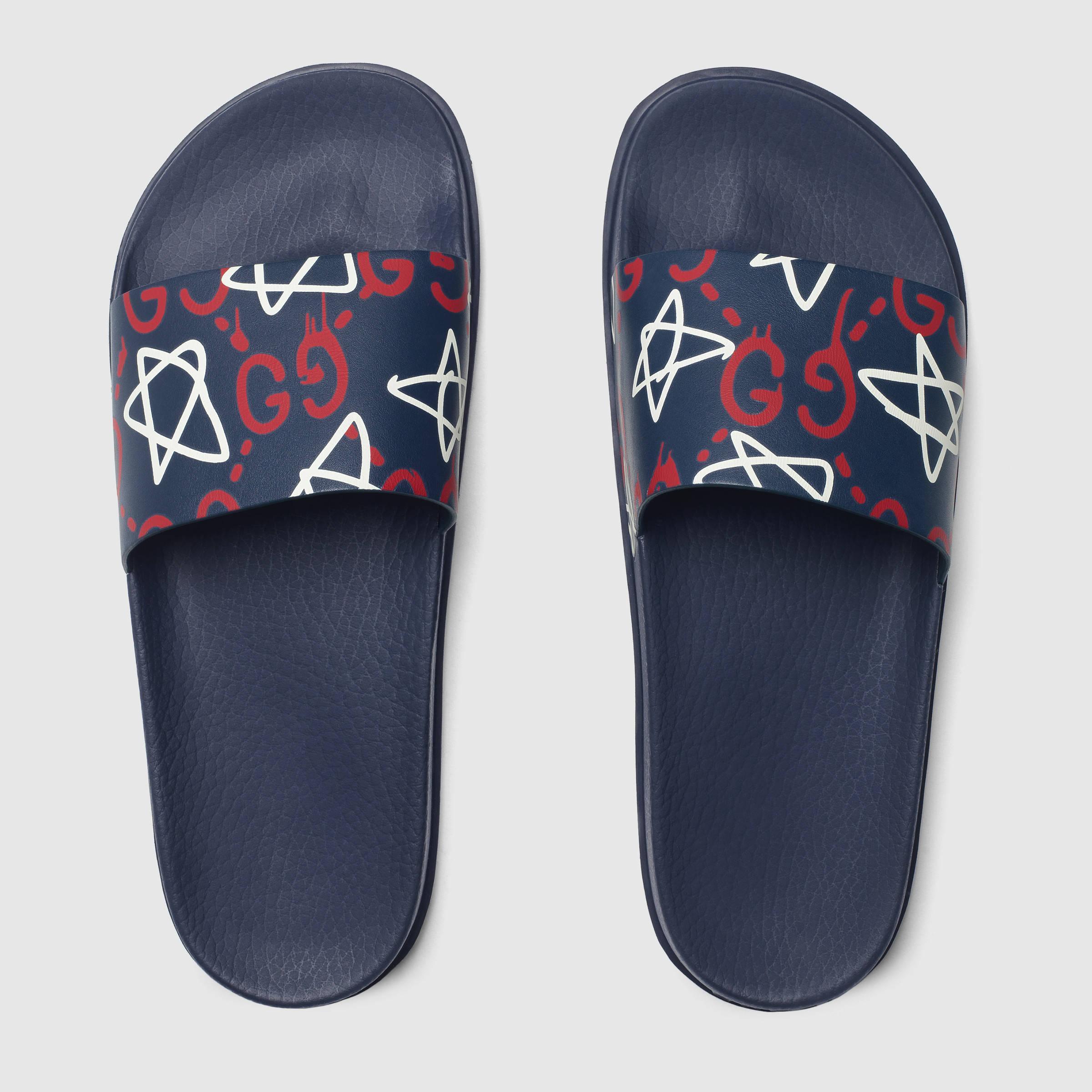 Gucci Ghost Slide Sandal for Men - Lyst bfc60dd10