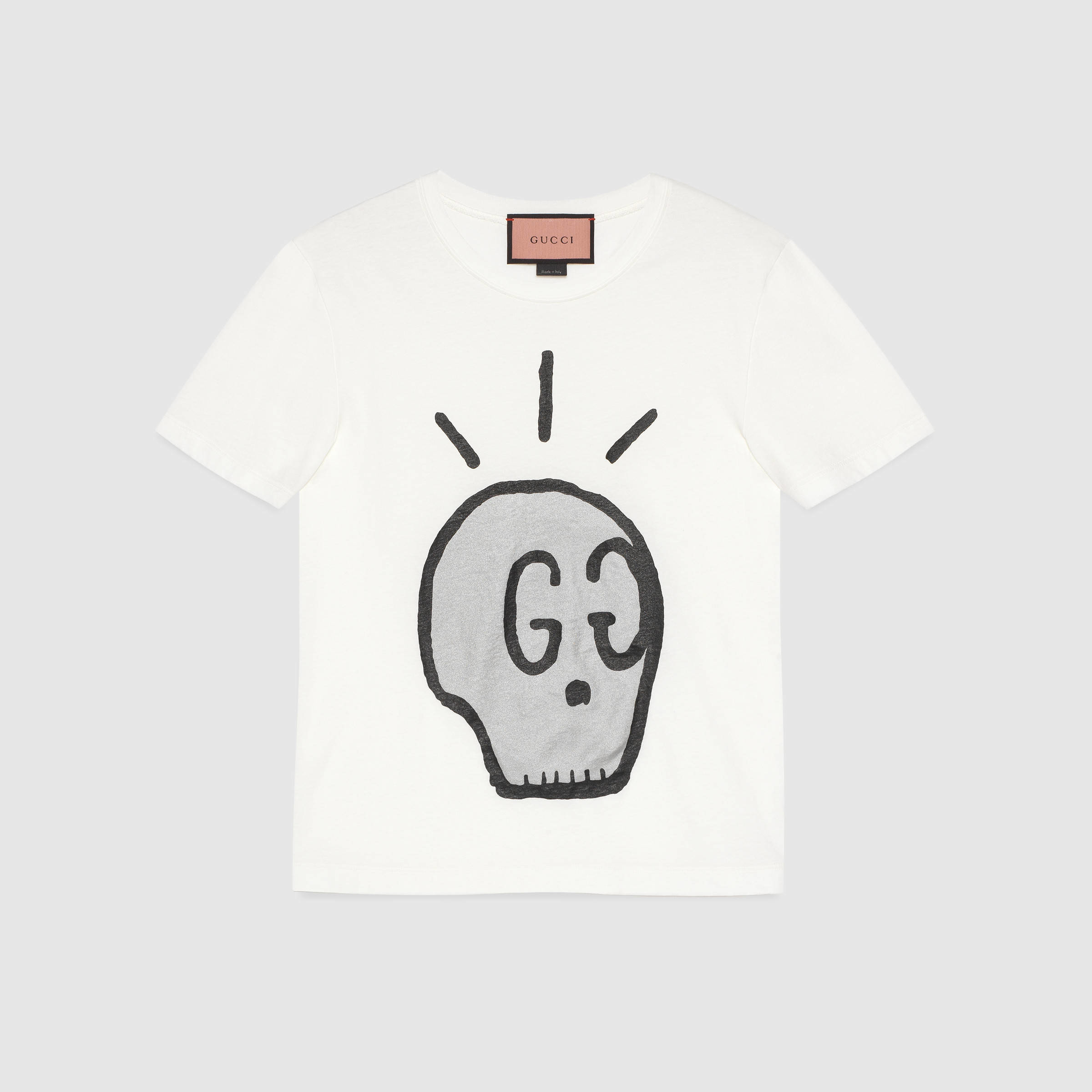 e0441f2f38cd Gucci Ghost T-shirt for Men - Lyst