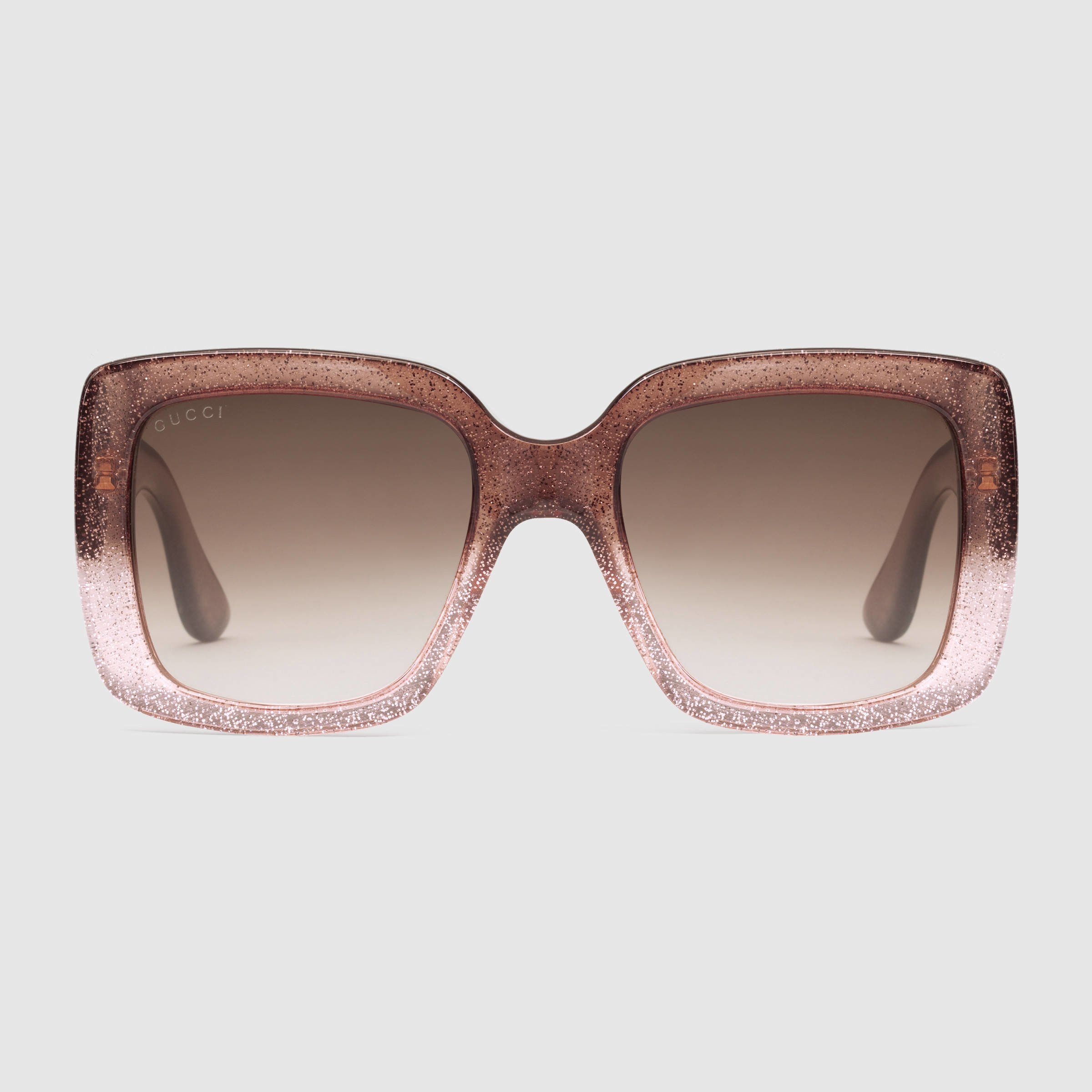 Gucci Square-frame Optyl Sunglasses in Pink | Lyst