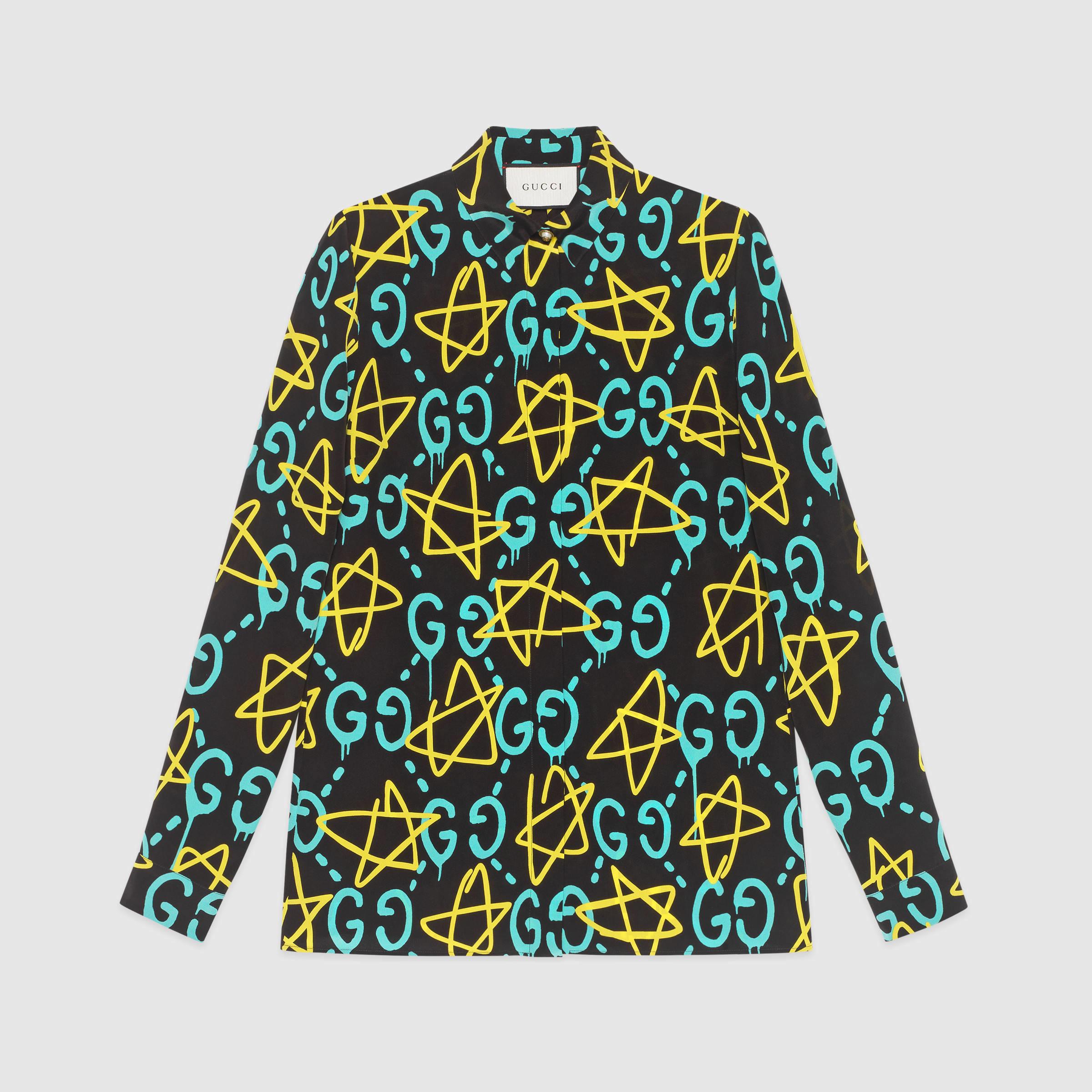 f60eb96abda Lyst - Gucci Ghost Shirt