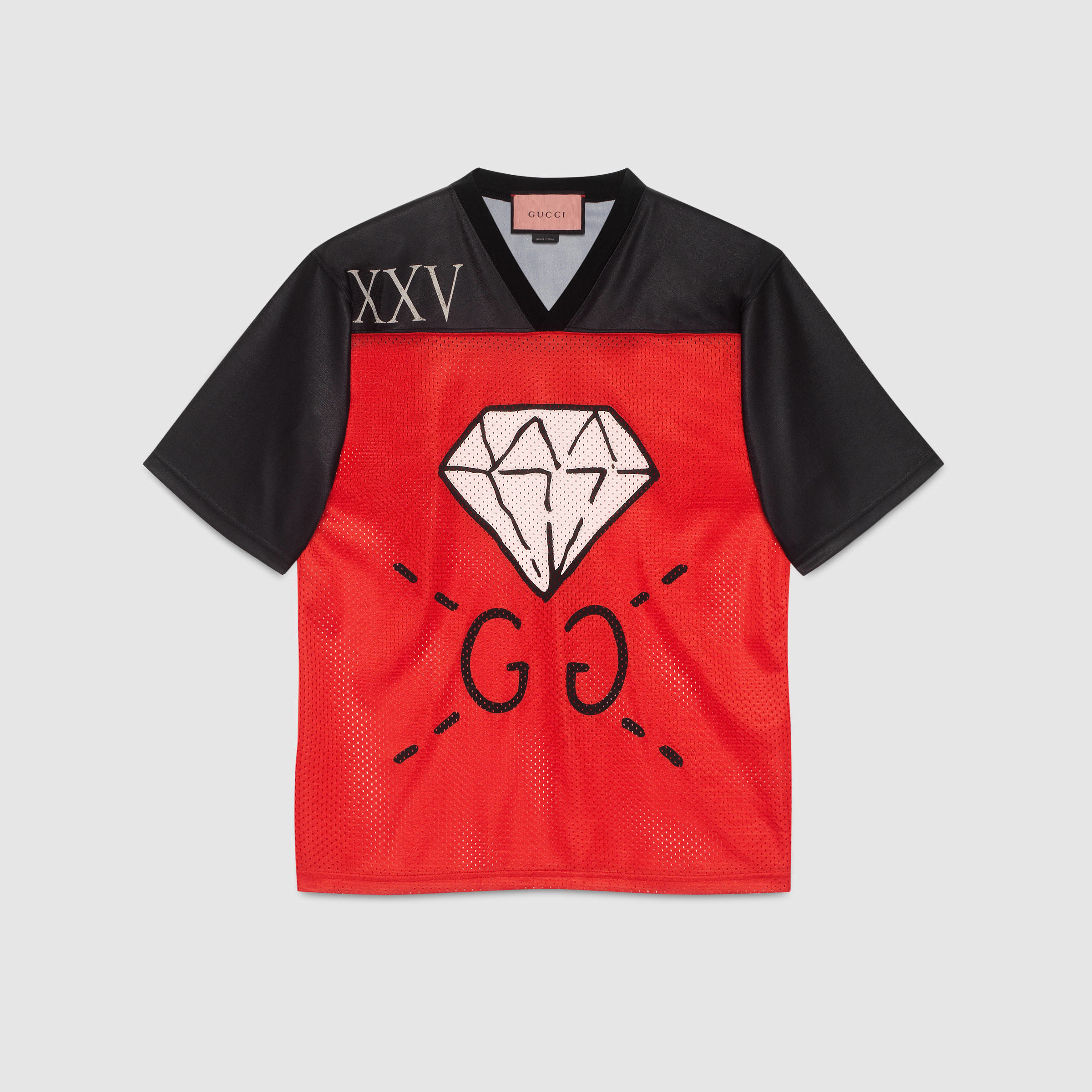 098a6b93f Lyst - Gucci Ghost T-shirt in Red for Men