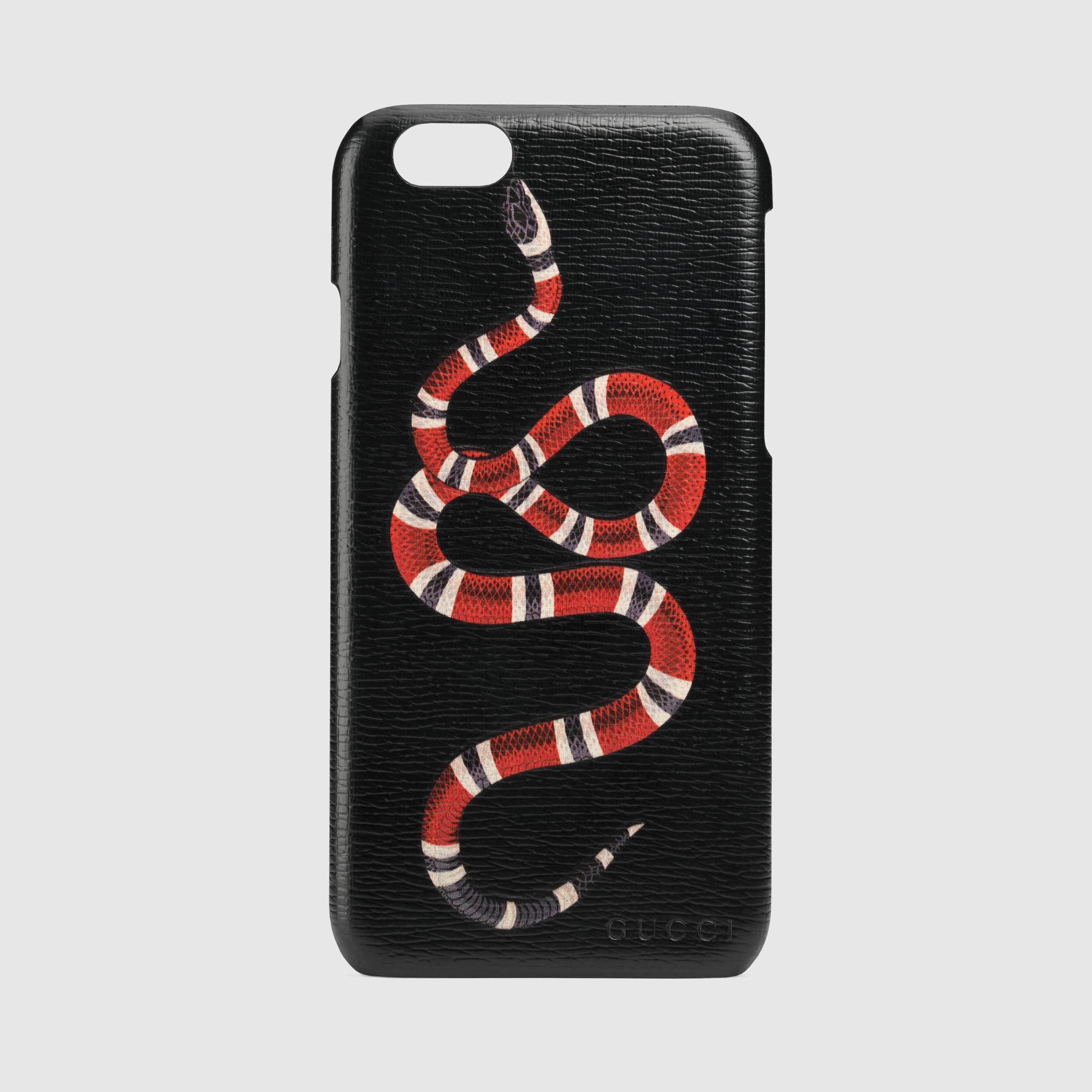brand new 4c68c f526f Women's Black Snake Print Iphone 6 Case