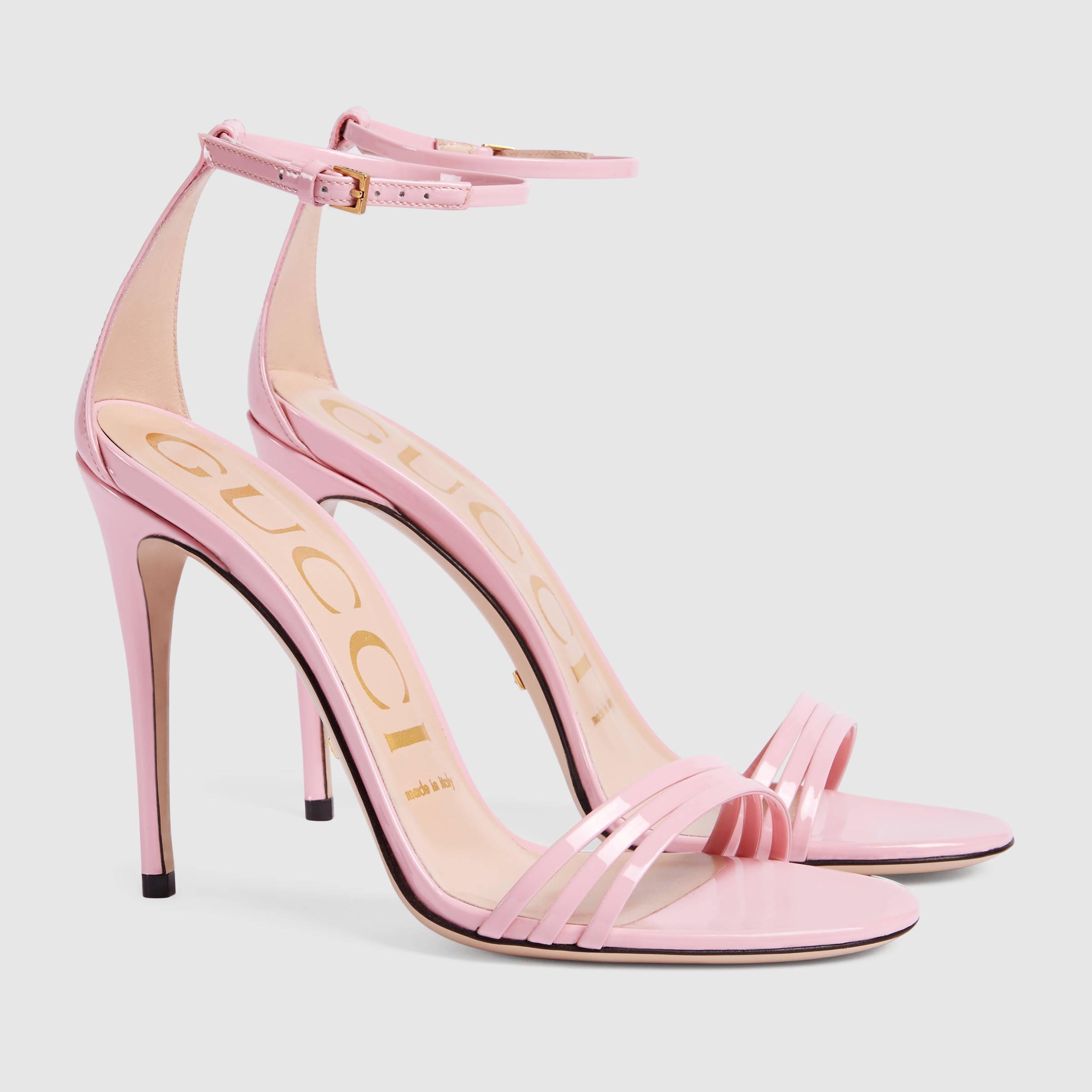 db88b7d127b Women's Pink Patent Leather Sandal
