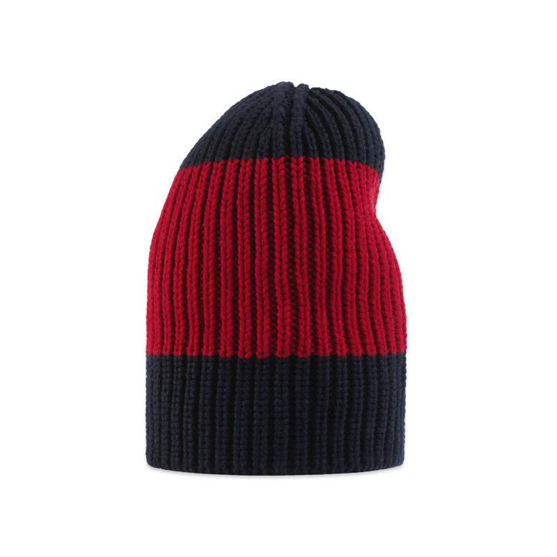 Gucci Hats For Men: Gucci Web Wool Hat In Red For Men