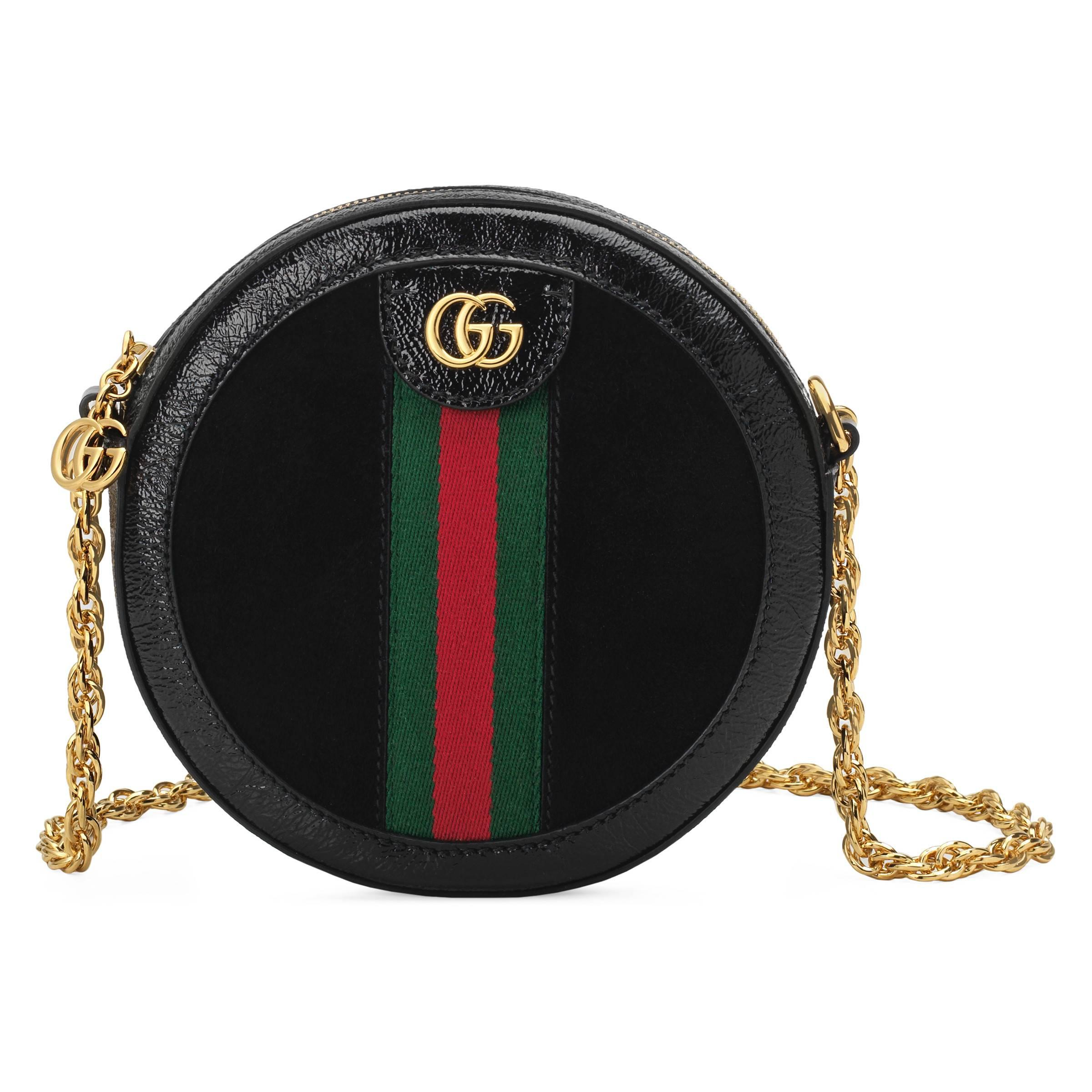 15f87a7a Gucci Ophidia Crossbody Bag in Black - Save 39% - Lyst