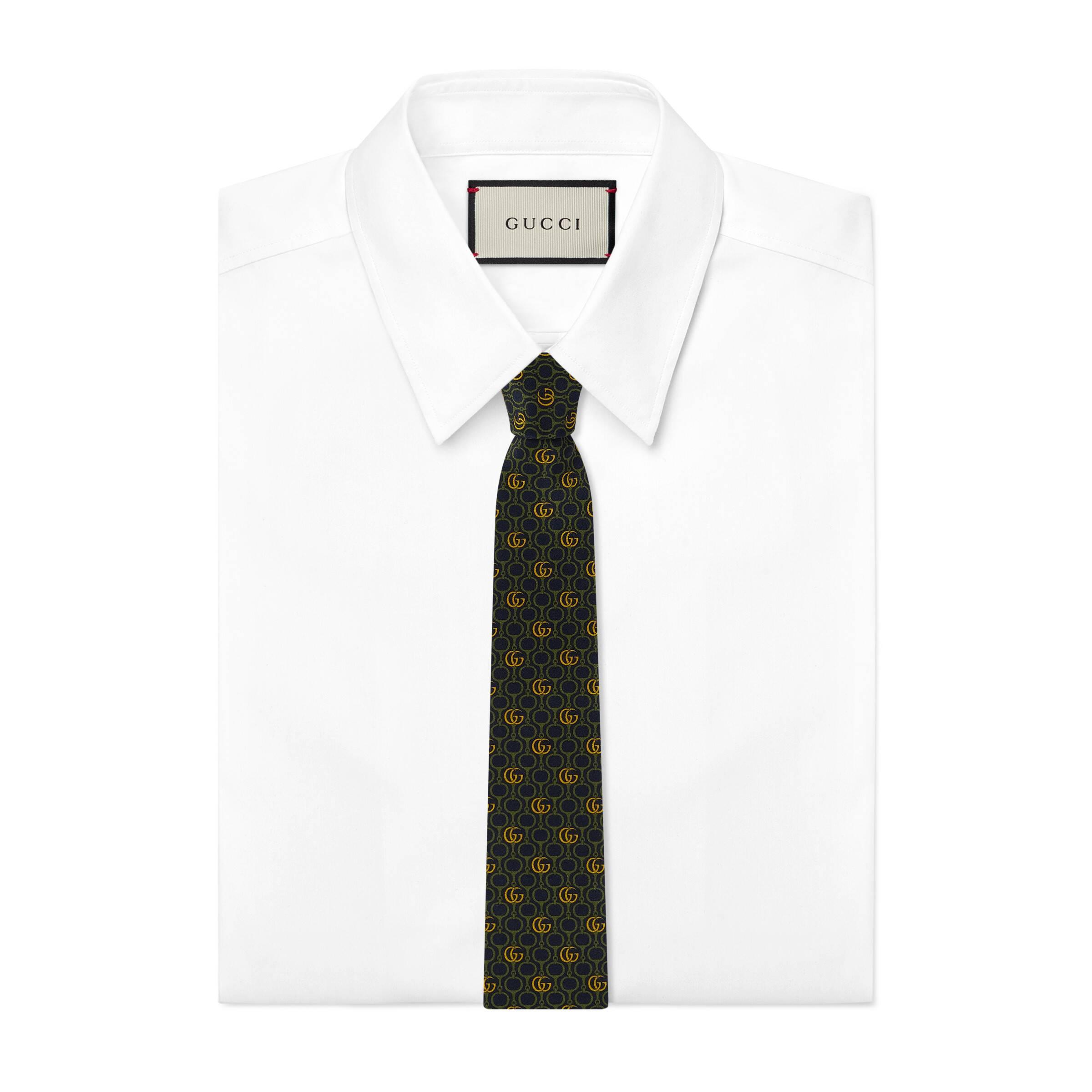 NEW $220 DOLCE /& GABBANA Tie White 100/% Silk Pattern 7cm Wide Necktie Accessory