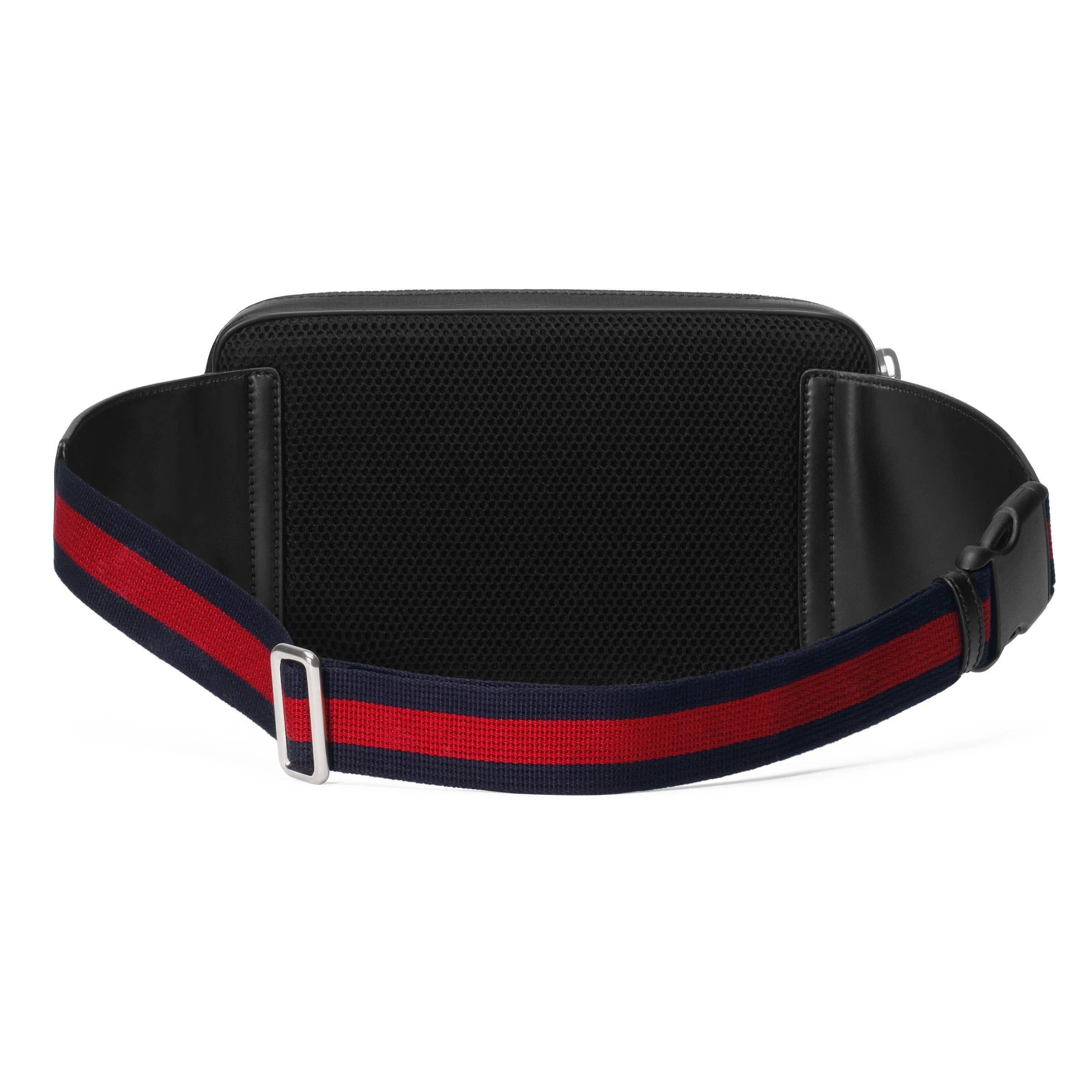 6a21d74a52e Gucci - Soft Gg Supreme Belt Bag Black for Men - Lyst. View fullscreen
