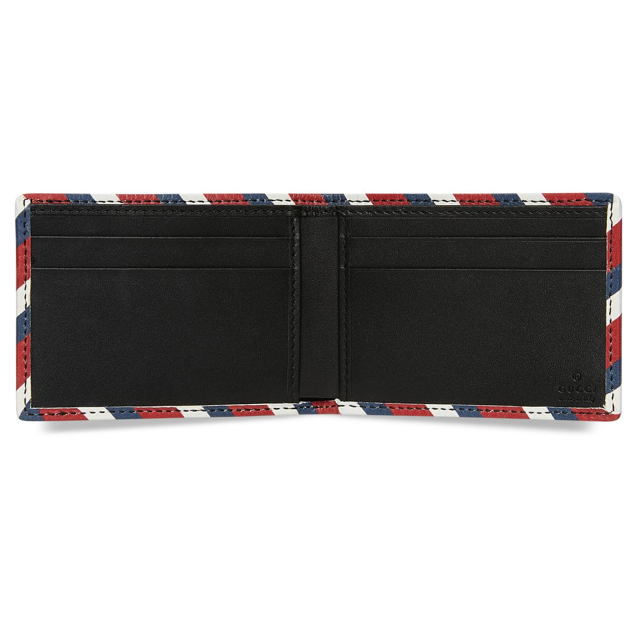 3acd052d5cb Gucci - Black Night Courrier GG Supreme Wallet for Men - Lyst. View  fullscreen