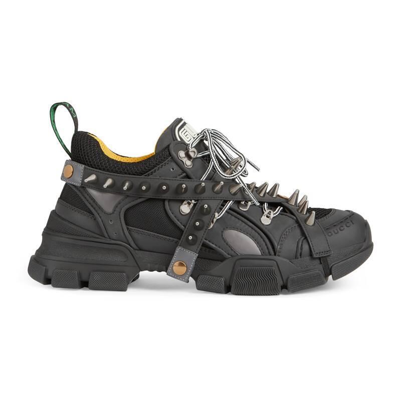 Gucci Rubber Flashtrek Sneakers in