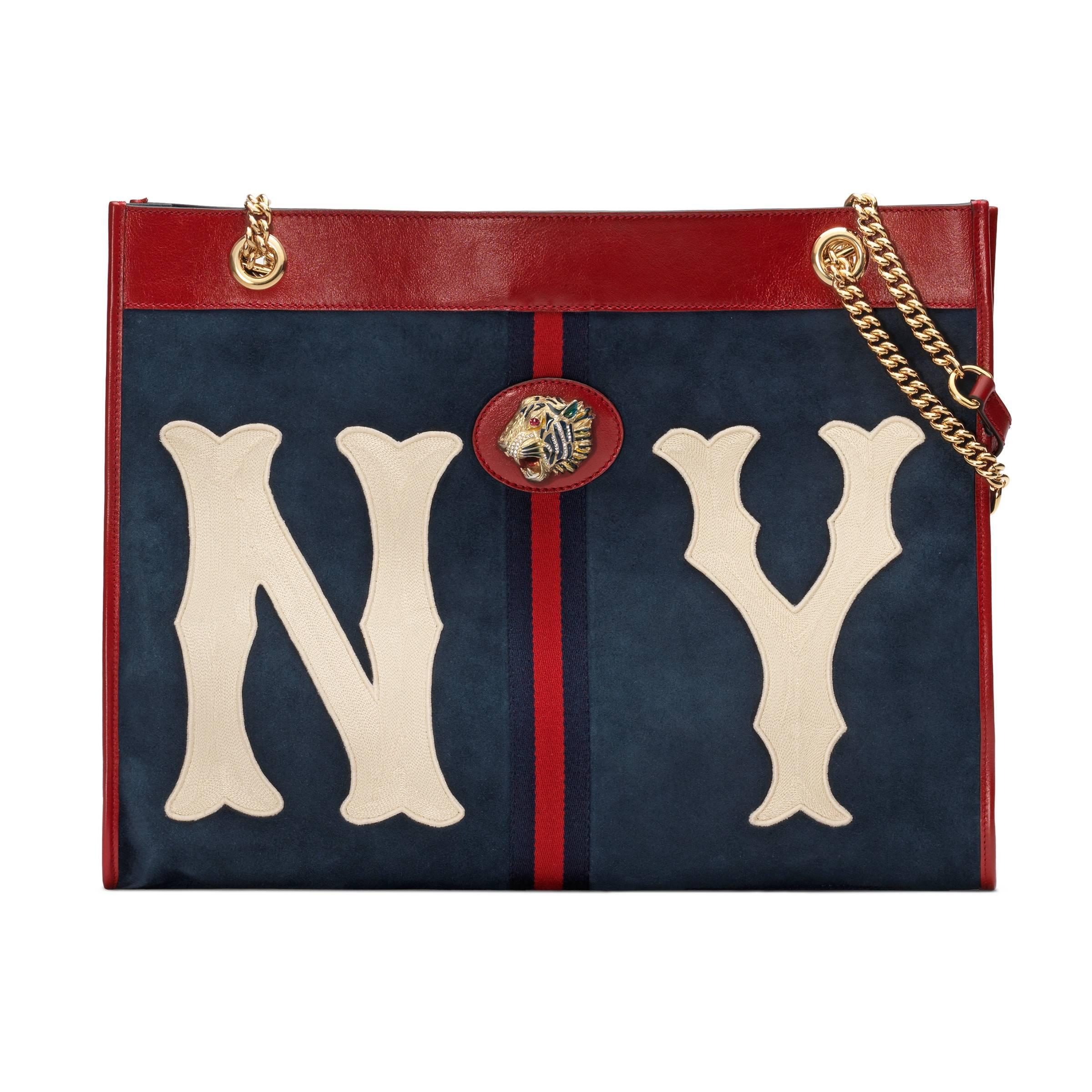 1e74a95442 Damen Großer Rajah Shopper mit NY YankeesTM-Patch in blau