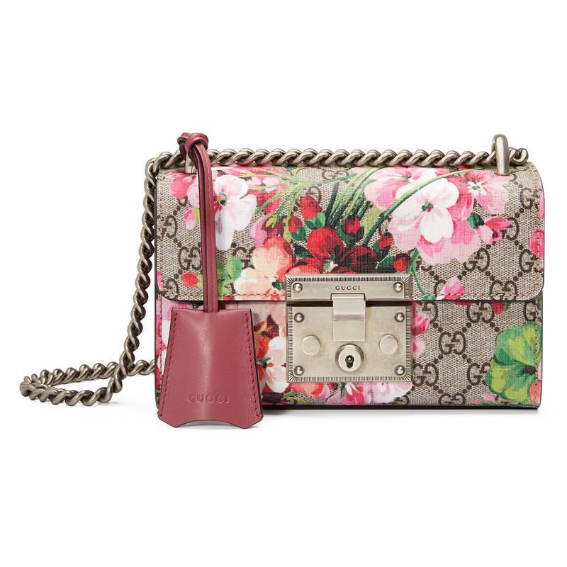 37d3b38e766e Lyst - Gucci Blooms Shoulder Bag in Pink