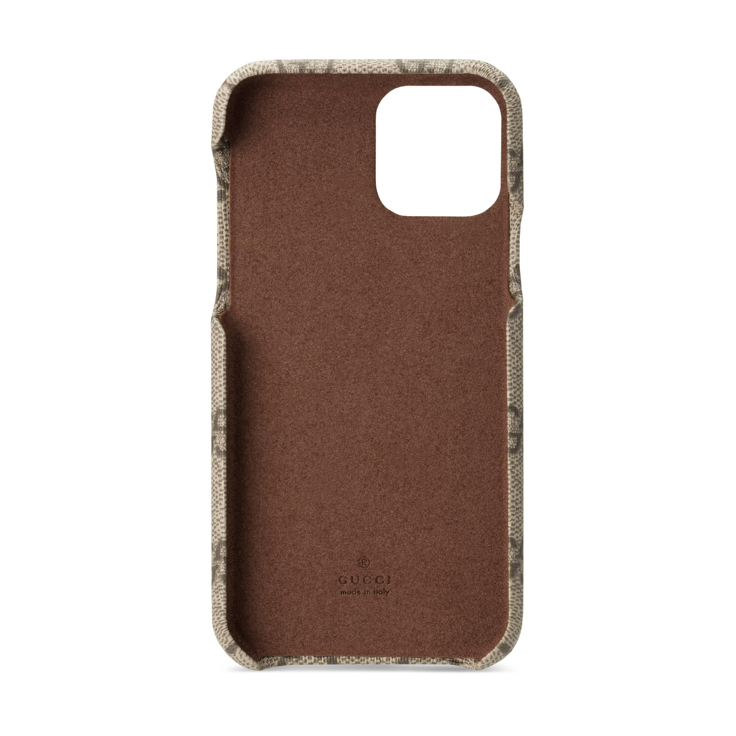 Gucci Canvas Ophidia Gg Iphone 11 Pro Case In Beige Natural Lyst