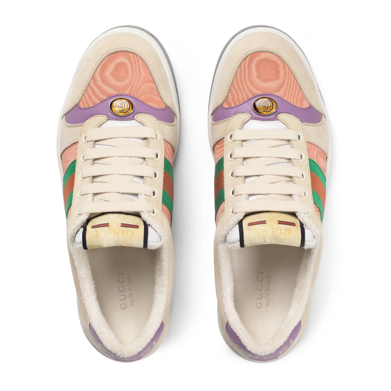 Gucci Women's Screener Leather Sneaker