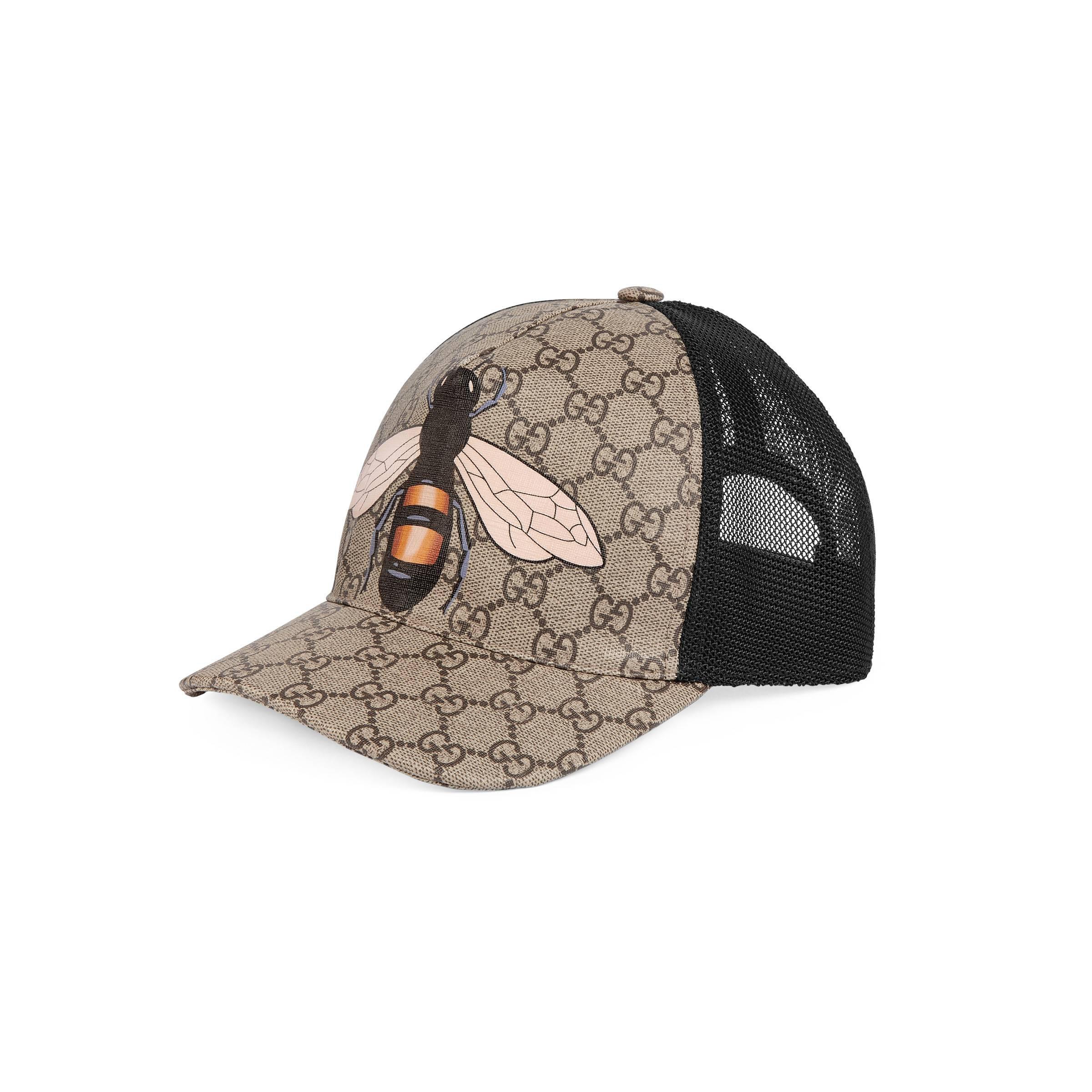 ea3b54146d Women's Natural Bee Print Gg Supreme Baseball Hat